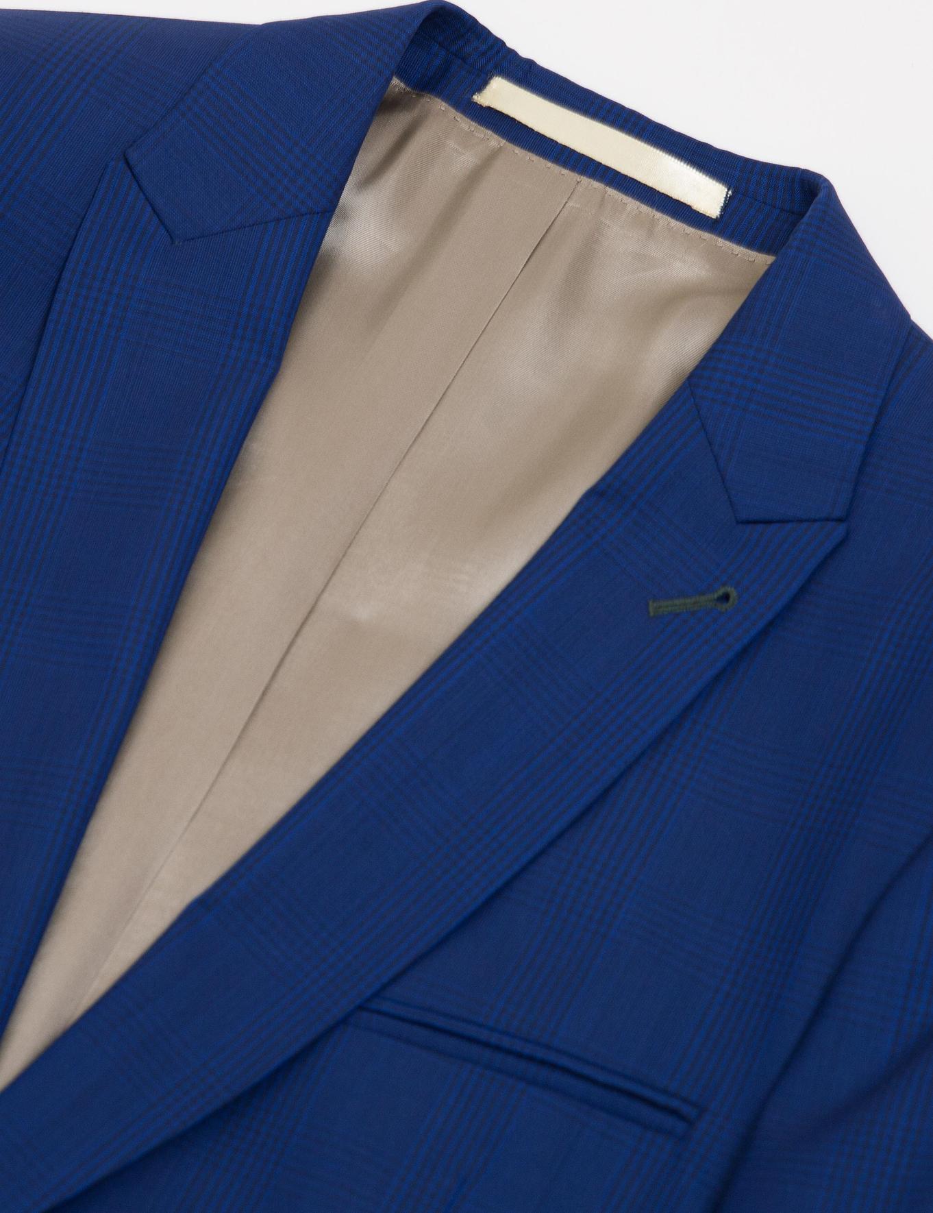 Açık Lacivert Slim Fit Takım Elbise - 50185602002