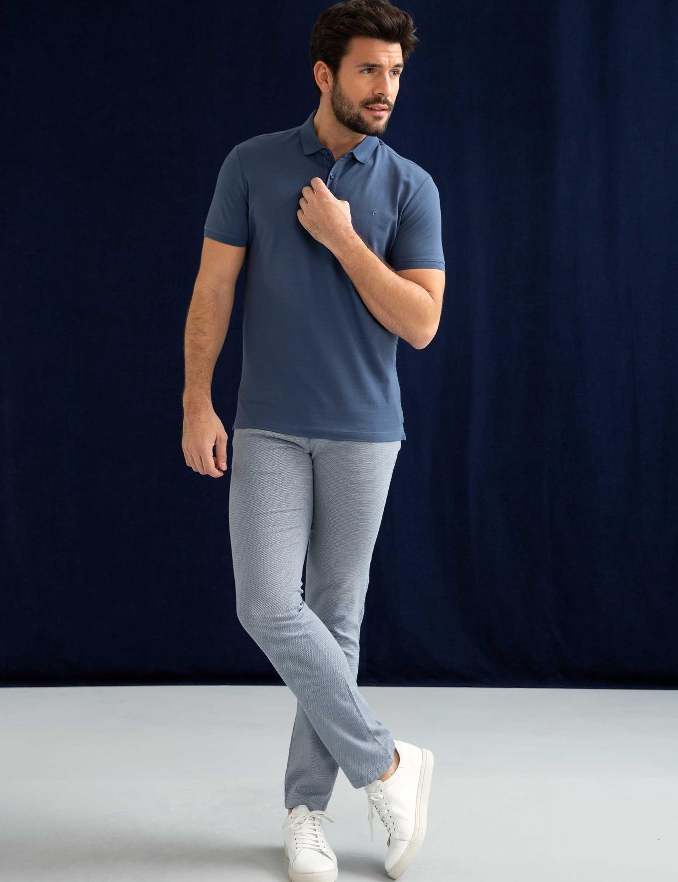 Polo Yaka Basic T-Shirt - 50200353118