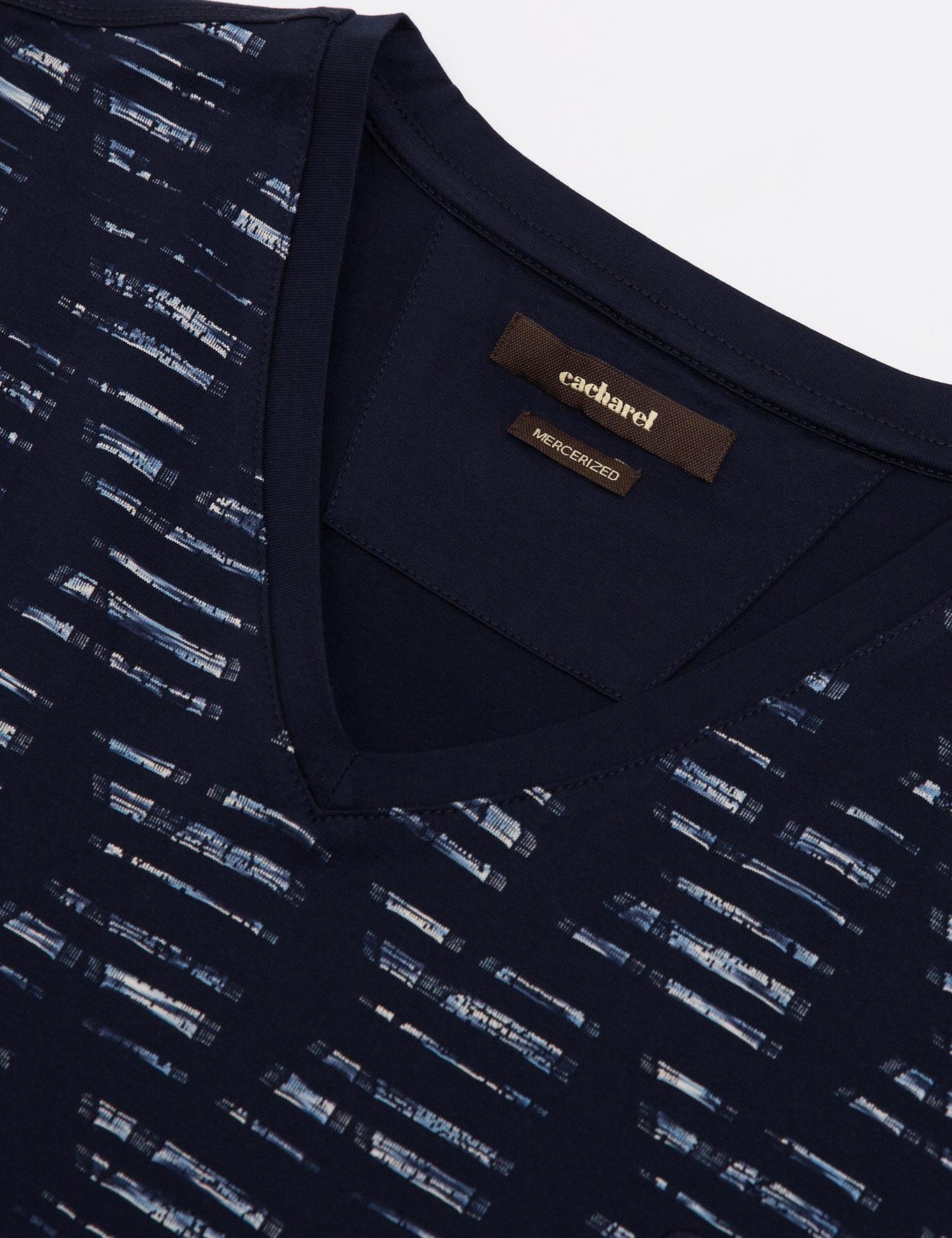 V Yaka T-Shirt - 50187533004