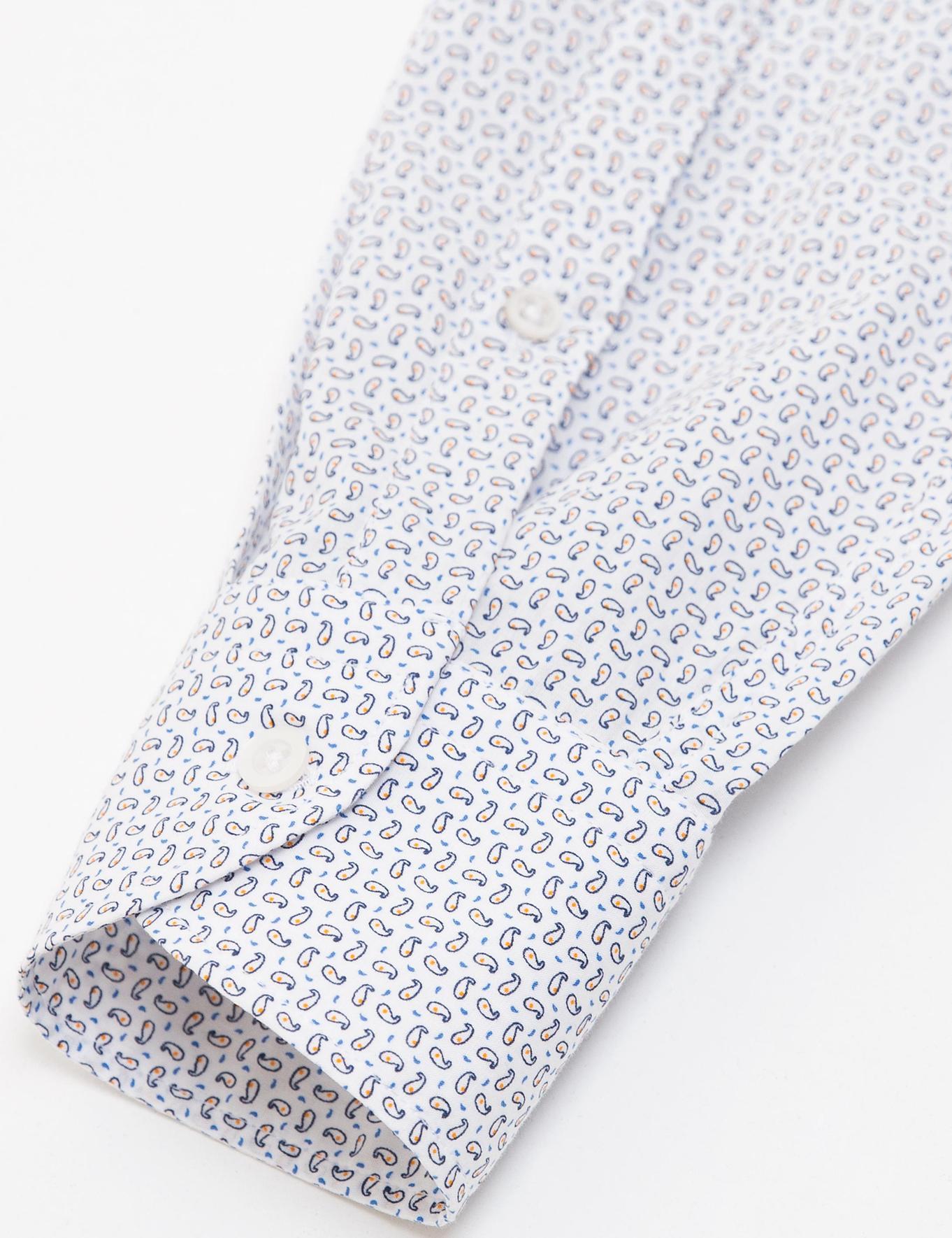 Turuncu Slim Fit Gömlek - 50189187005