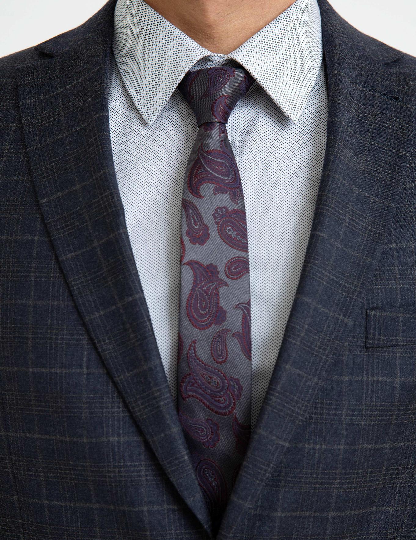 Lacivert Slim Fit Takım Elbise - 50192442024
