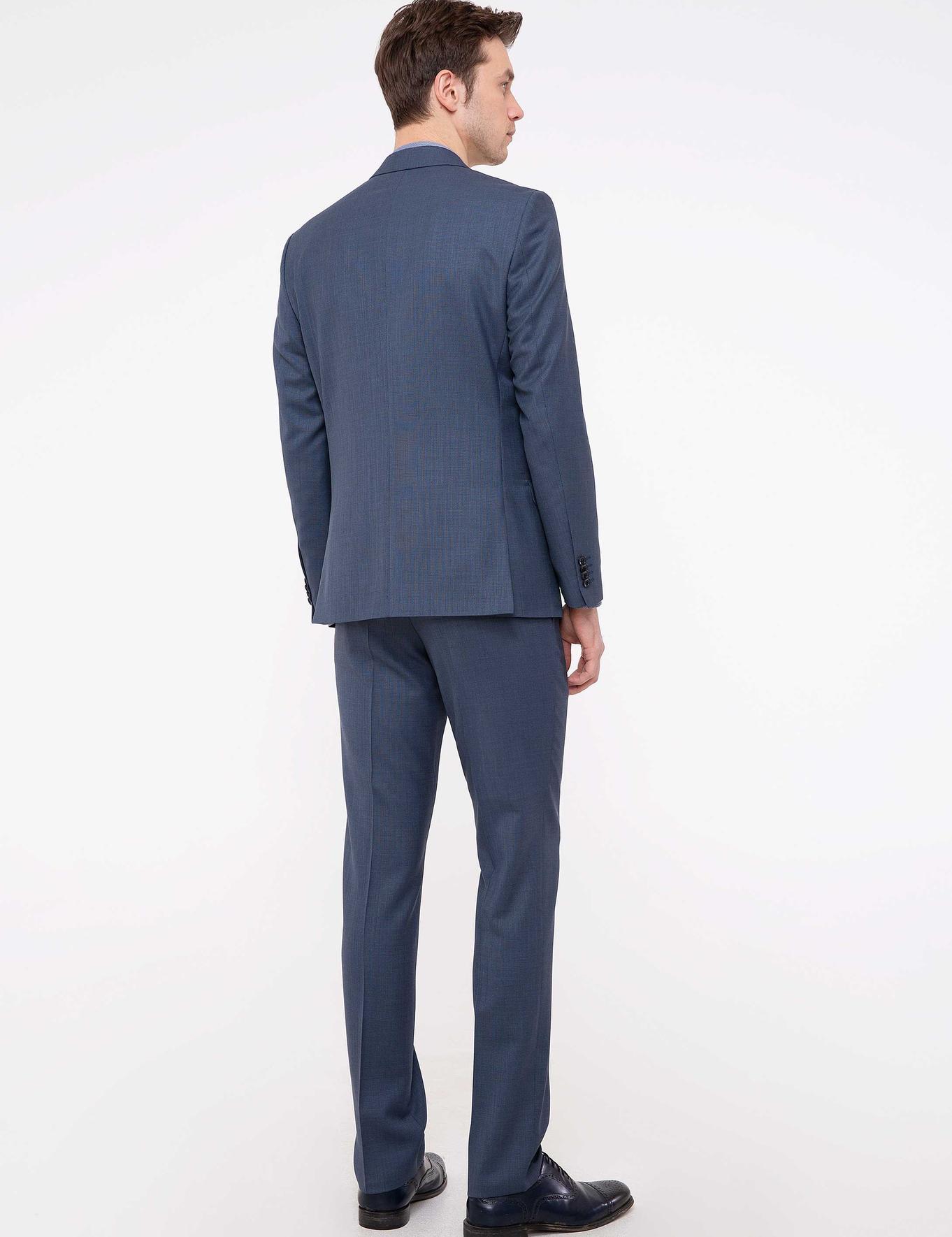 İndigo Slim Fit Takım Elbise - 50200616041