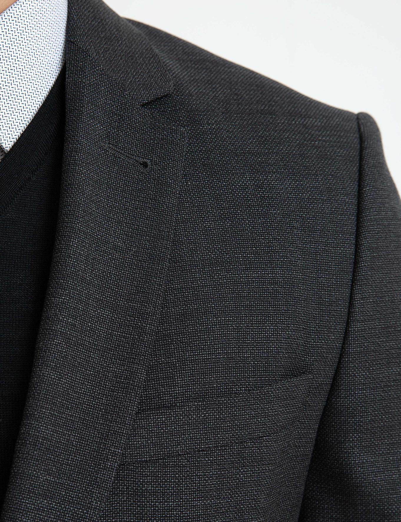 Antrasit Slim Fit Takım Elbise - 50192599001