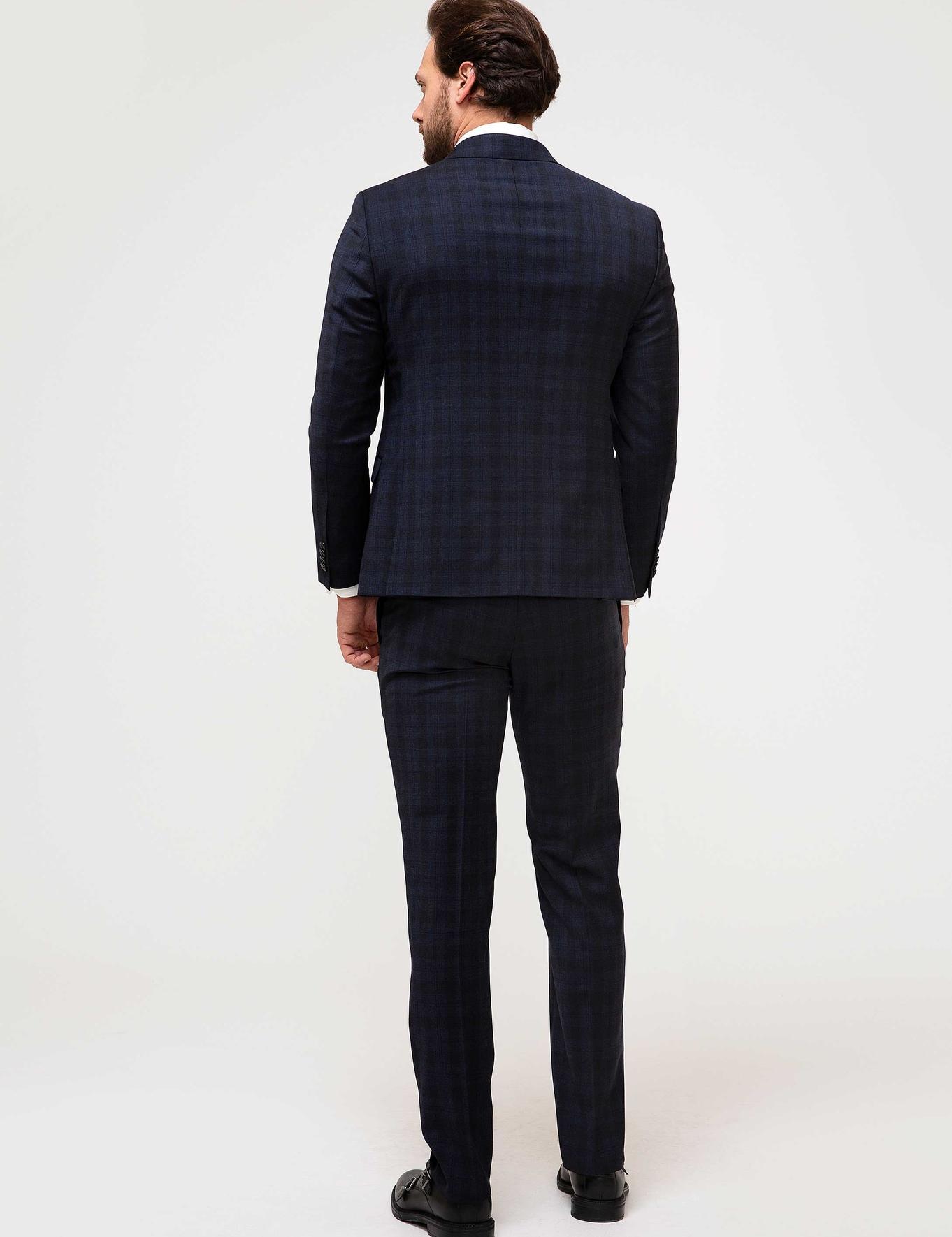Lacivert Slim Fit Takım Elbise - 50192612041