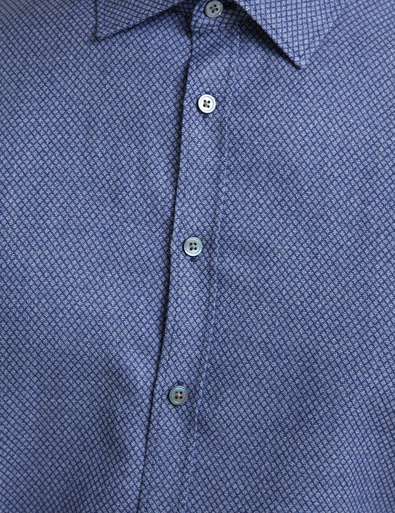 Lacivert Slim Fit Gömlek - 50192797004