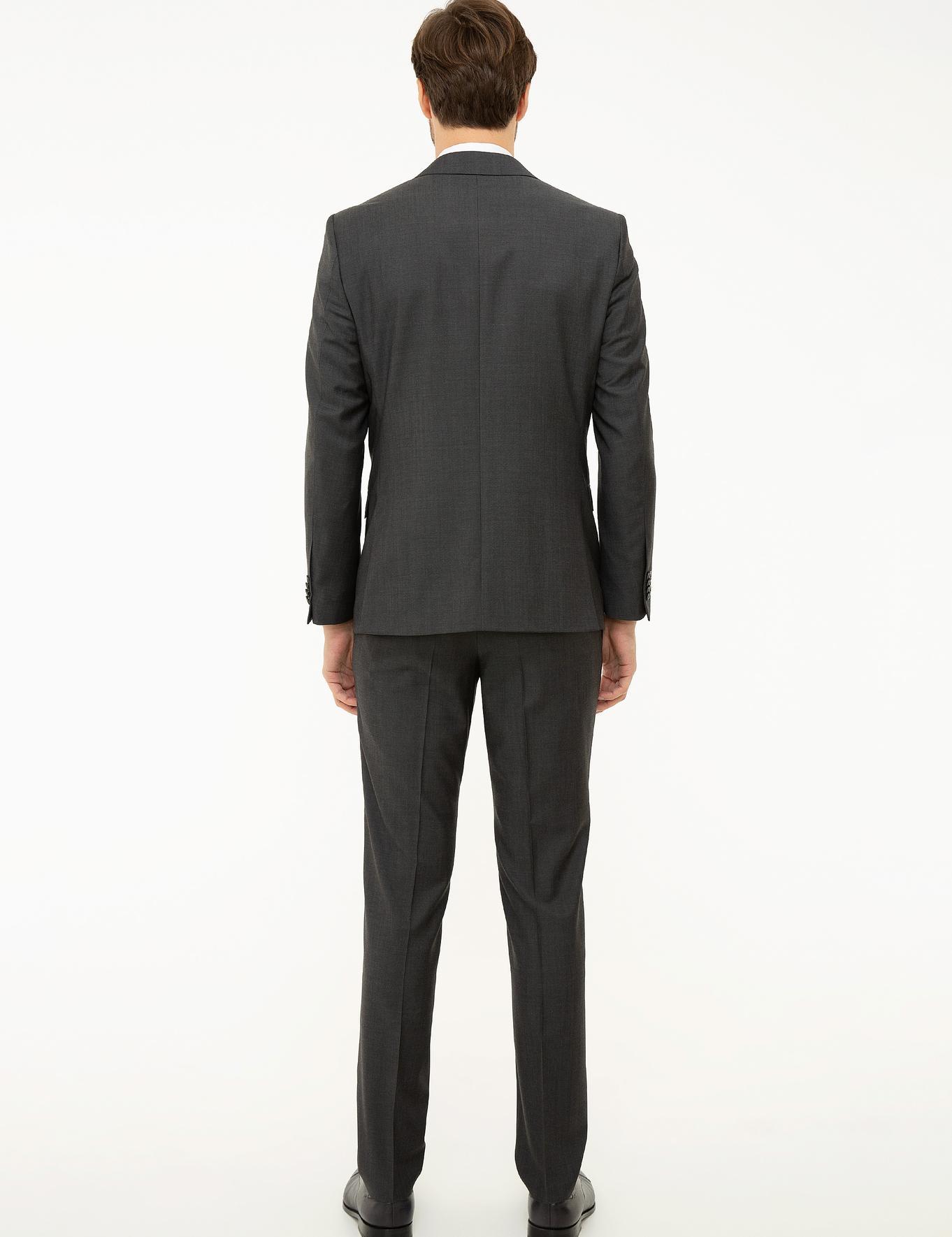 Füme Slim Fit Takım Elbise - 50224971077