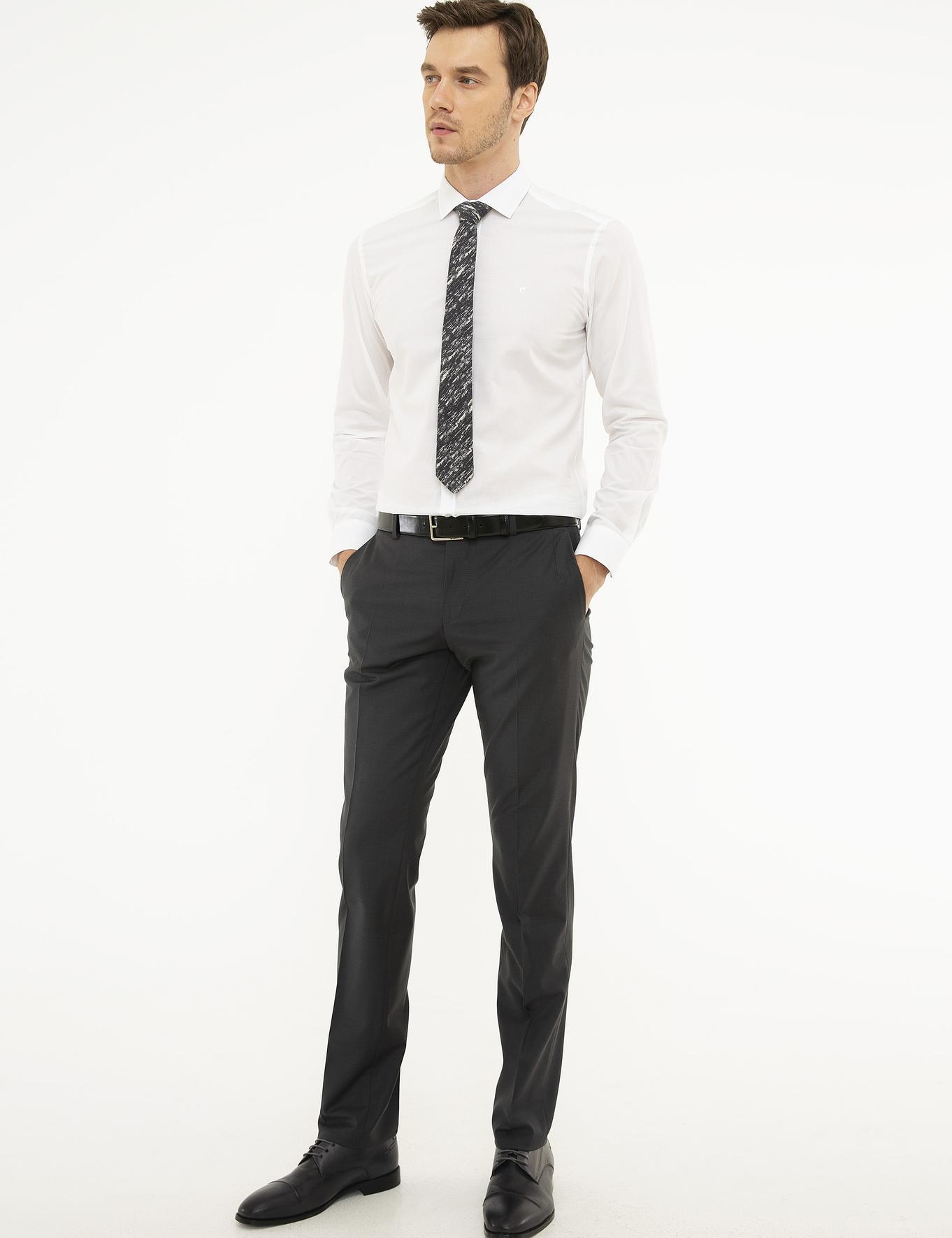 Beyaz Slim Fit Gömlek - 50219045001