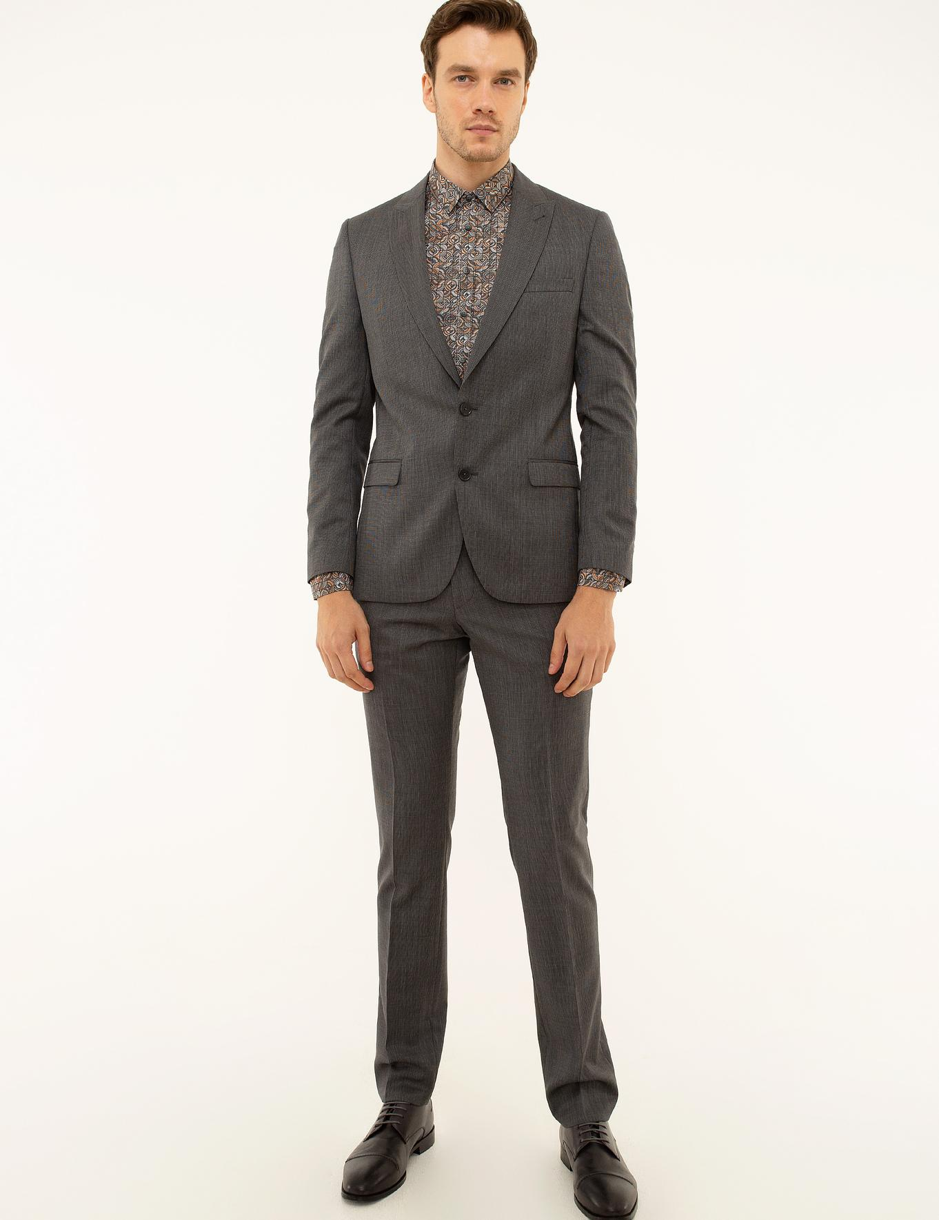 Antrasit Slim Fit Takım Elbise - 50220902005