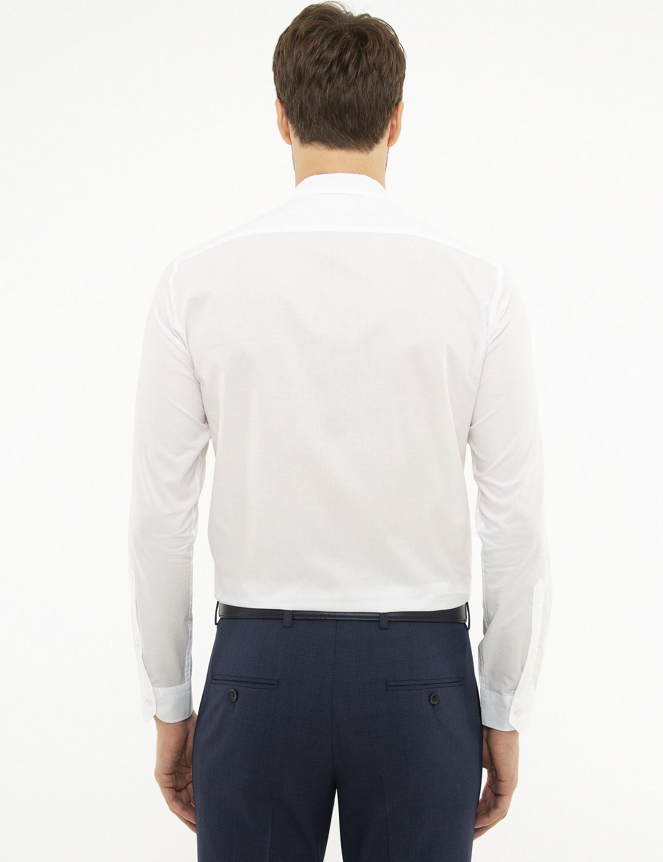 Beyaz Slim Fit Gömlek - 50219052006