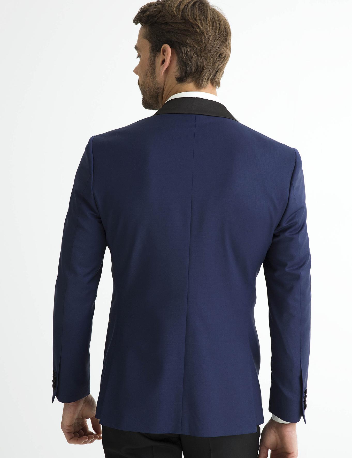 İndigo Slim Fit Ceket - 50187379056