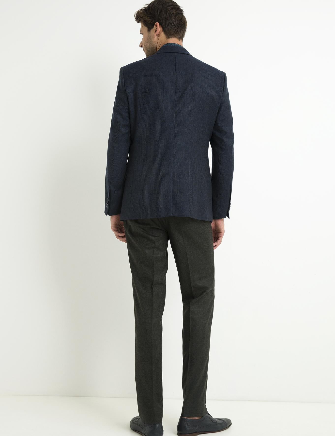 Yeşil Slim Fit Pantolon - 50192637193