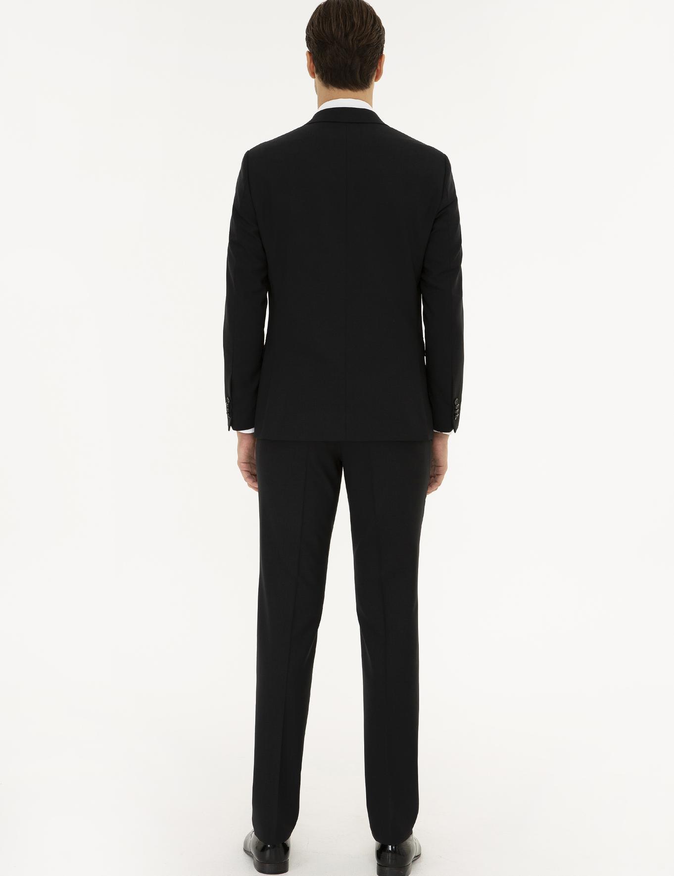 Siyah Slim Fit Takım Elbise - 50219674056