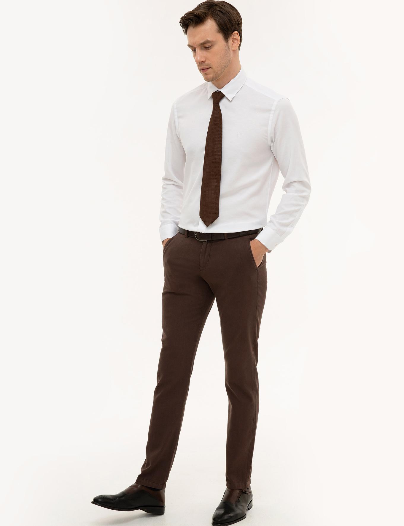 Kahverengi Slim Fit Chino - 50225933011