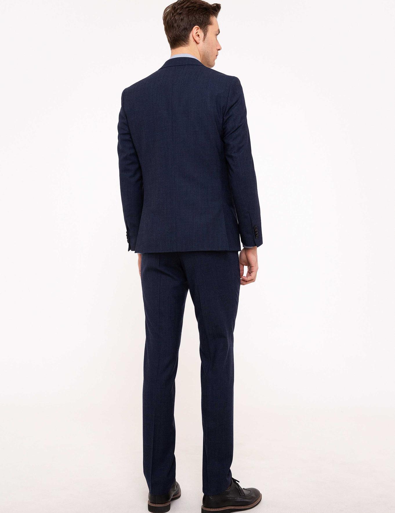 Lacivert Slim Fit Takım Elbise - 50204557005