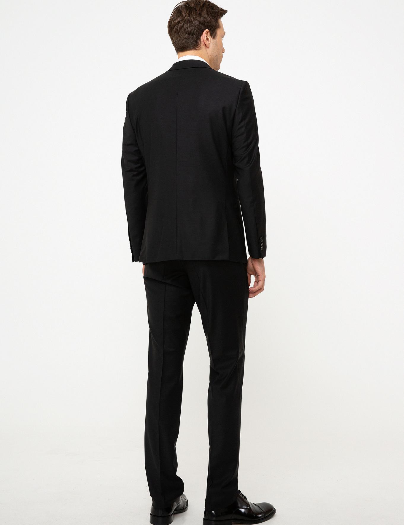 Siyah Slim Fit Takım Elbise - 50206330251