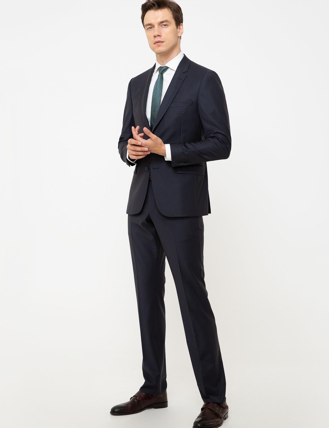 Açık Lacivert Slim Fit Takım Elbise - 50206330299