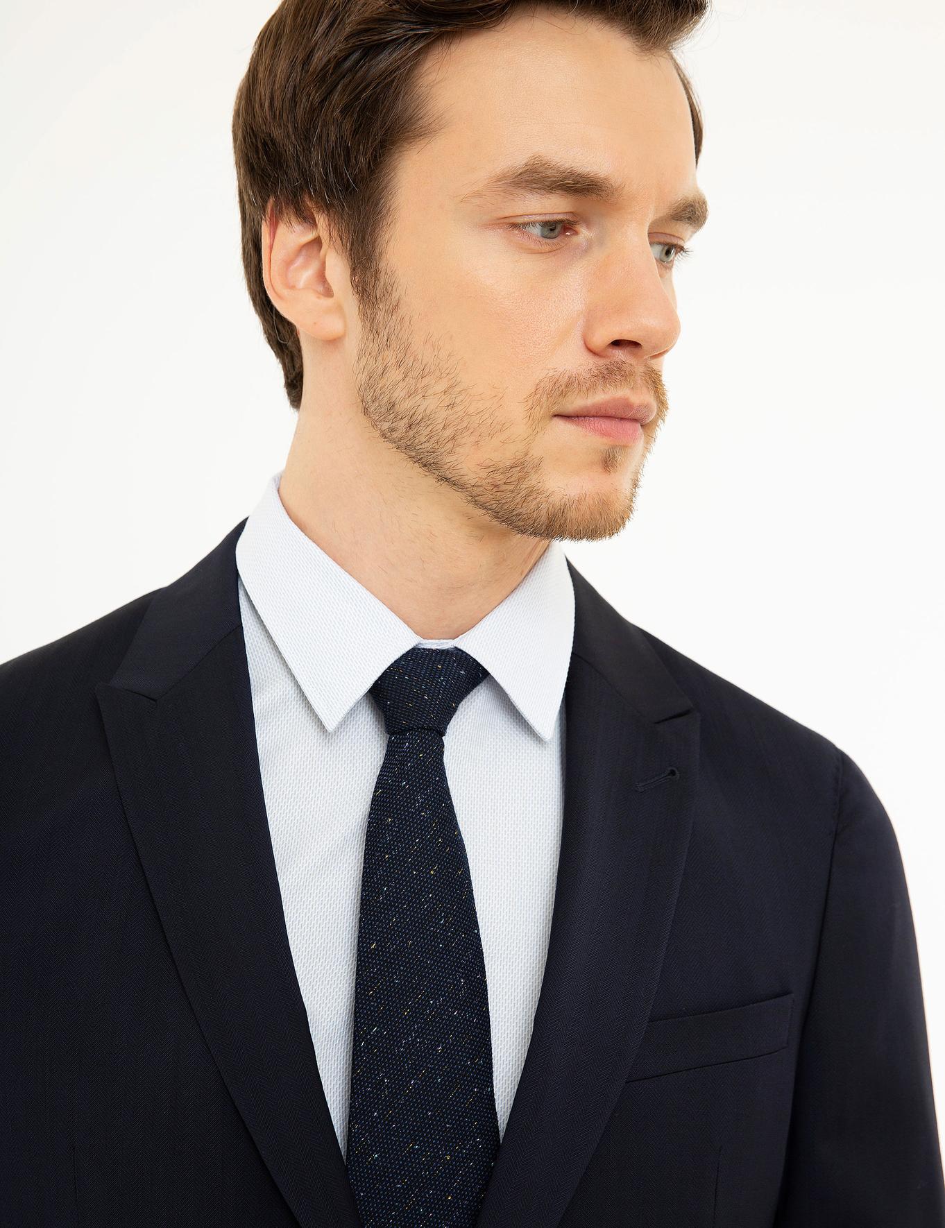 Lacivert Slim Fit Takım Elbise - 50206934054