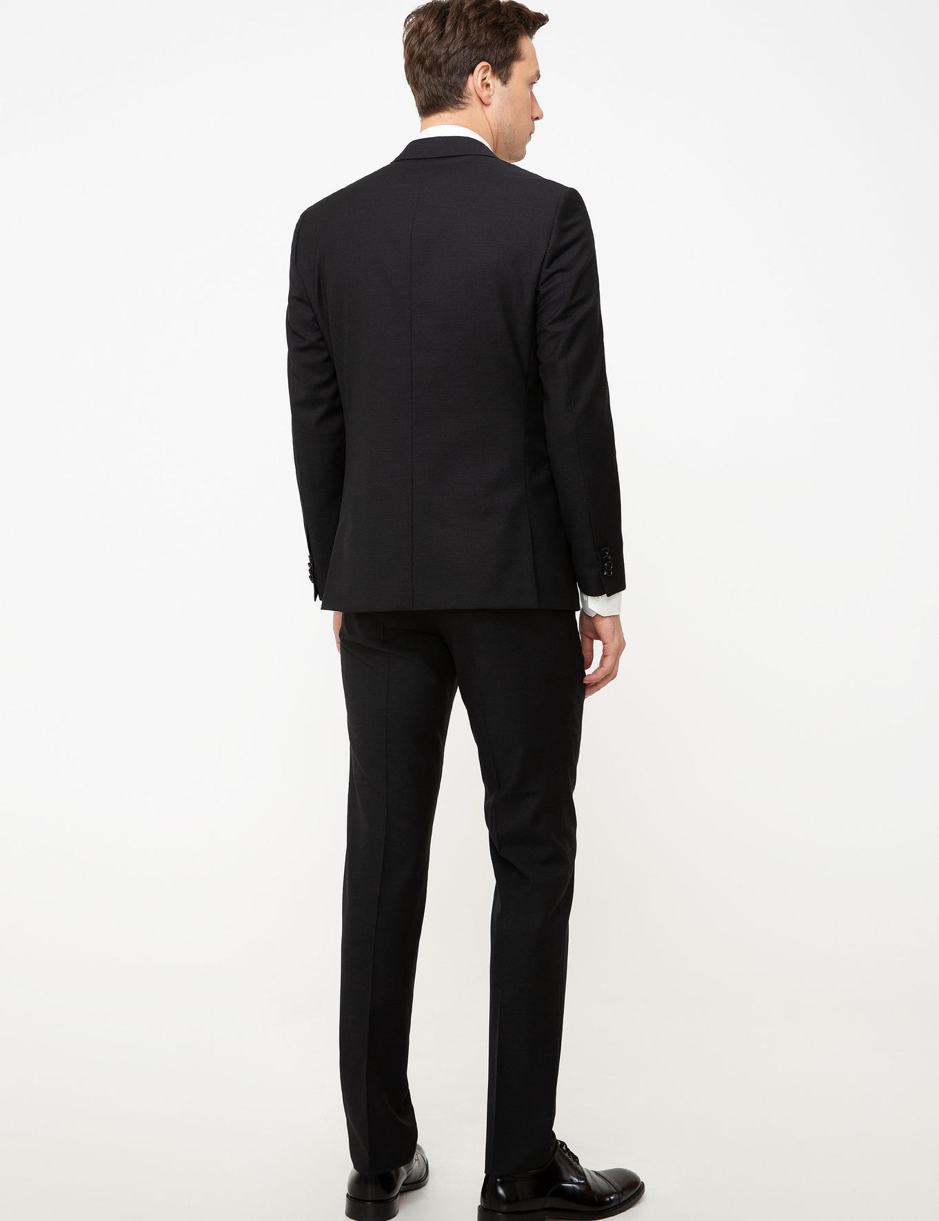 Siyah Slim Fit Takım Elbise - 50199394080