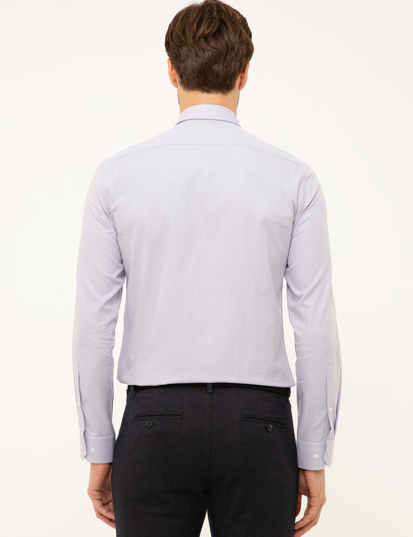 Pembe Slim Fit Gömlek - 50199631005