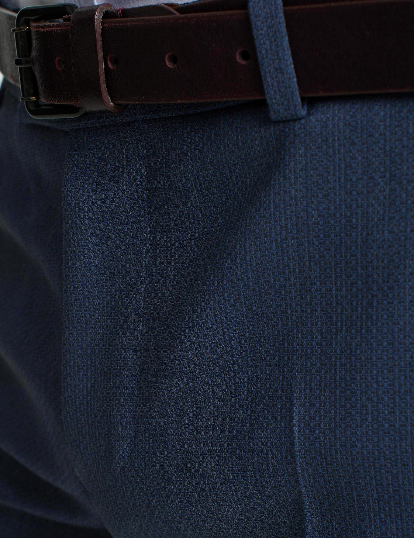 Koyu Mavi Slim Fit Pantolon - 50185884005