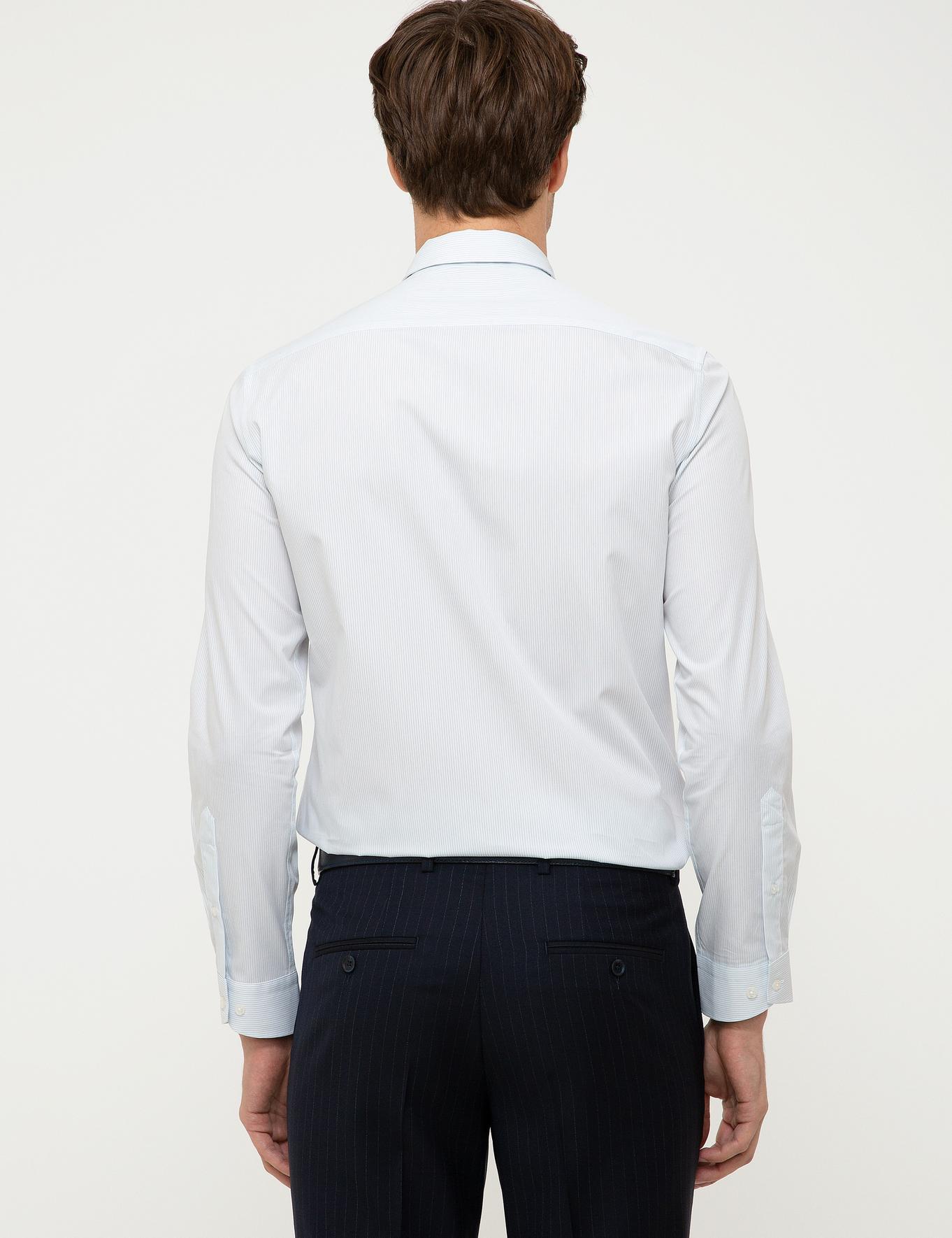 Açık Mavi Slim Fit Gömlek - 50218142005