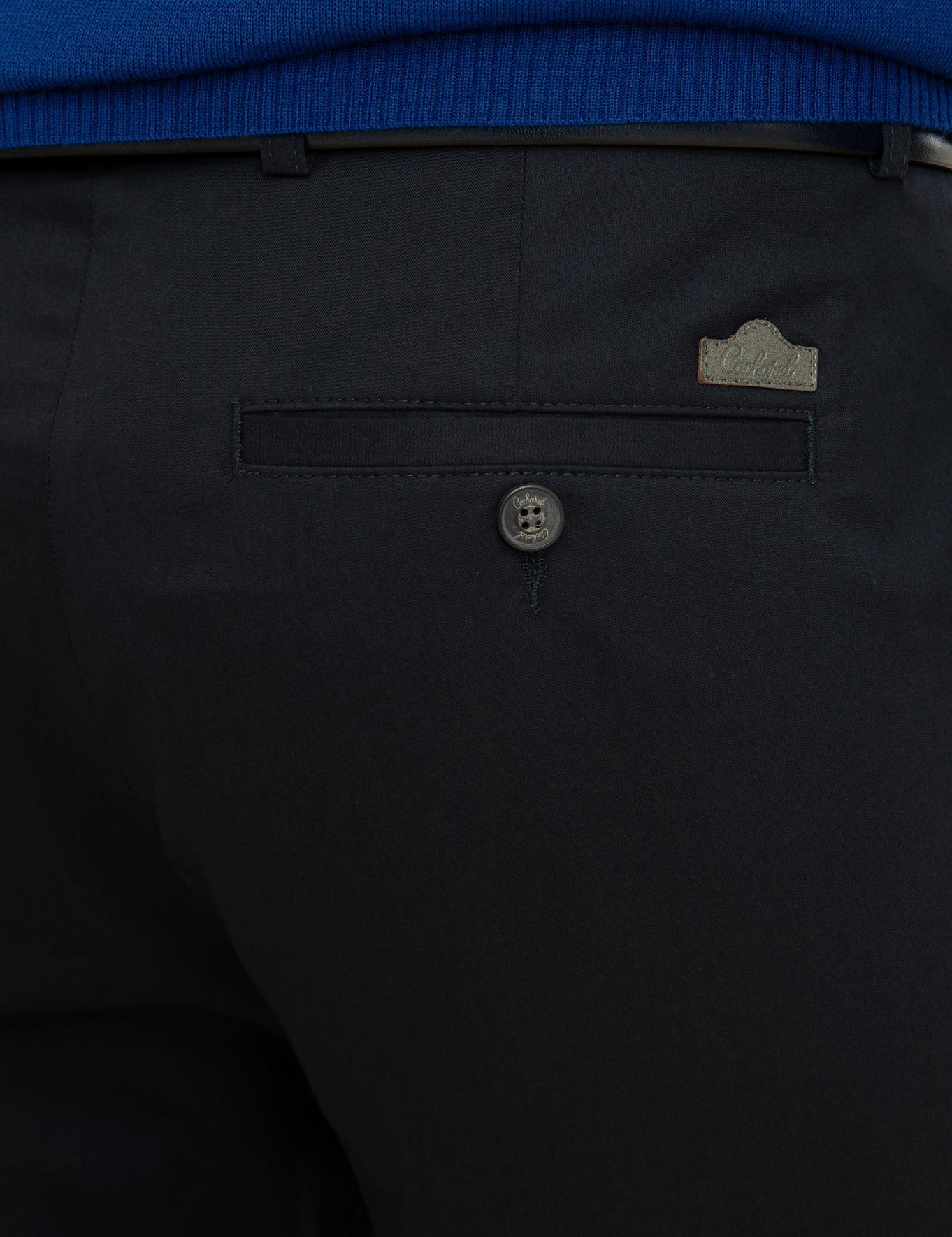 Lacivert Slim Fit Chino - 50225936008