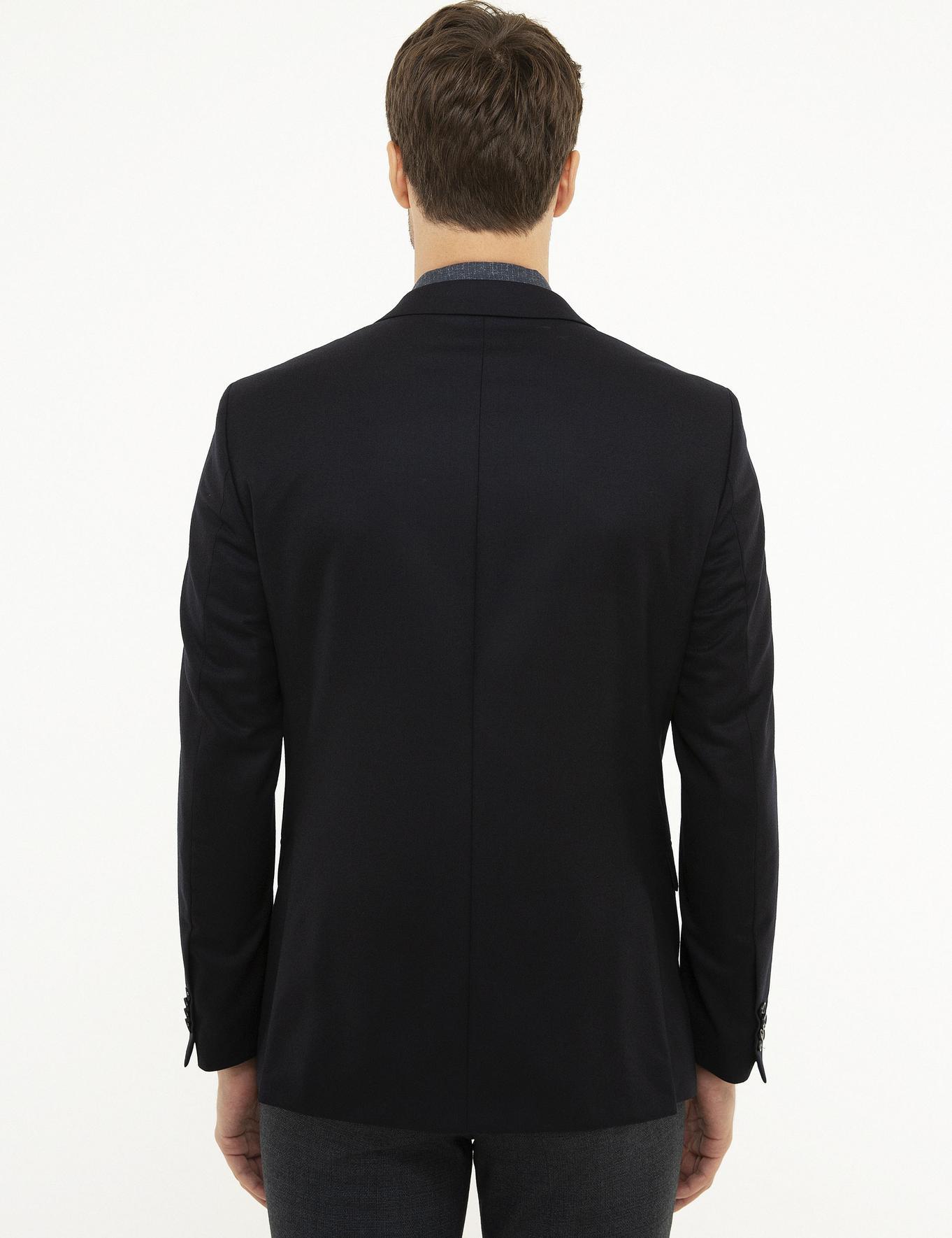 Lacivert Slim Fit Ceket - 50209707252