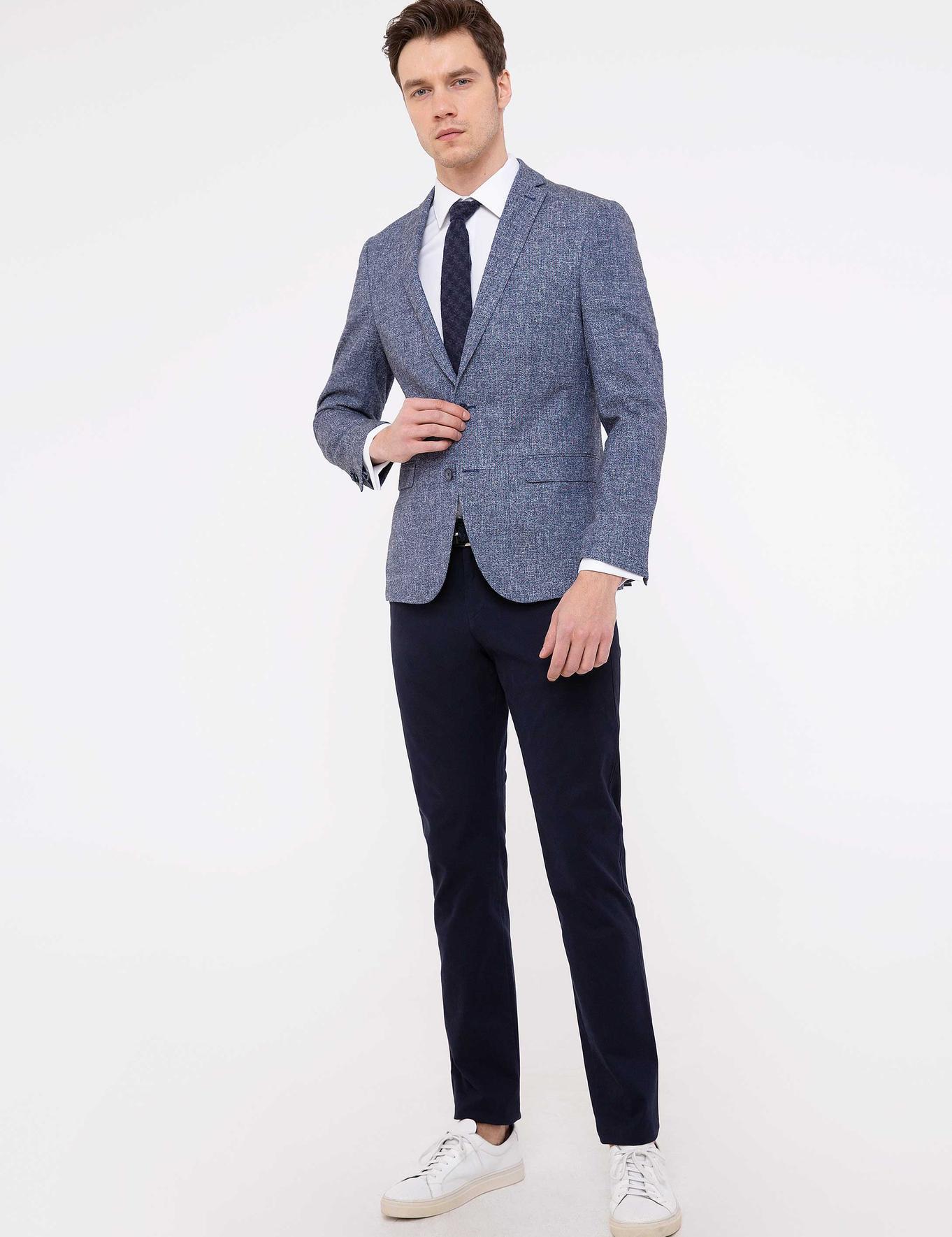 Lacivert Slim Fit Chino - 50213533020