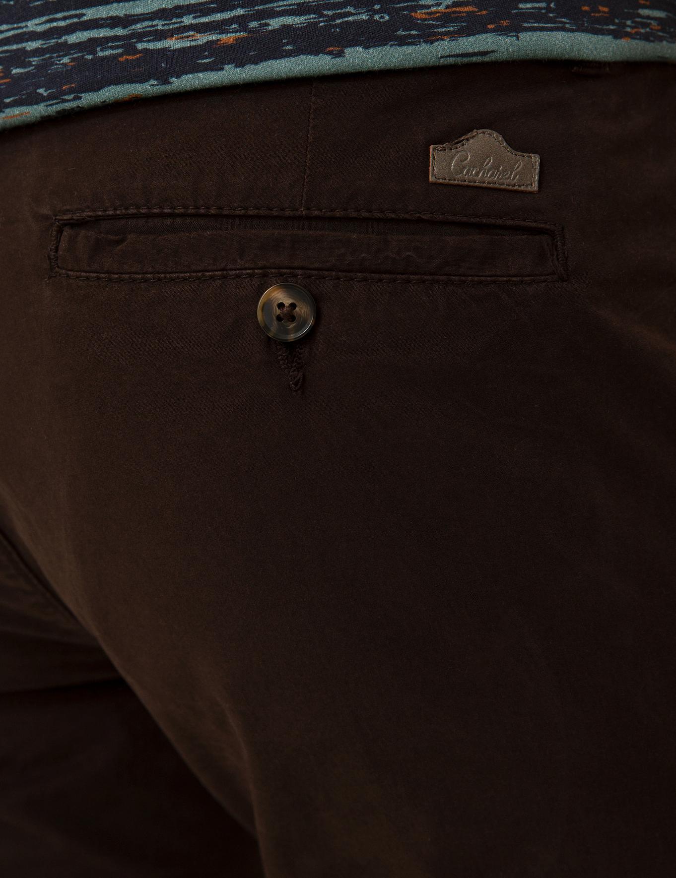 Kahverengi Slim Fit Chino - 50213505077