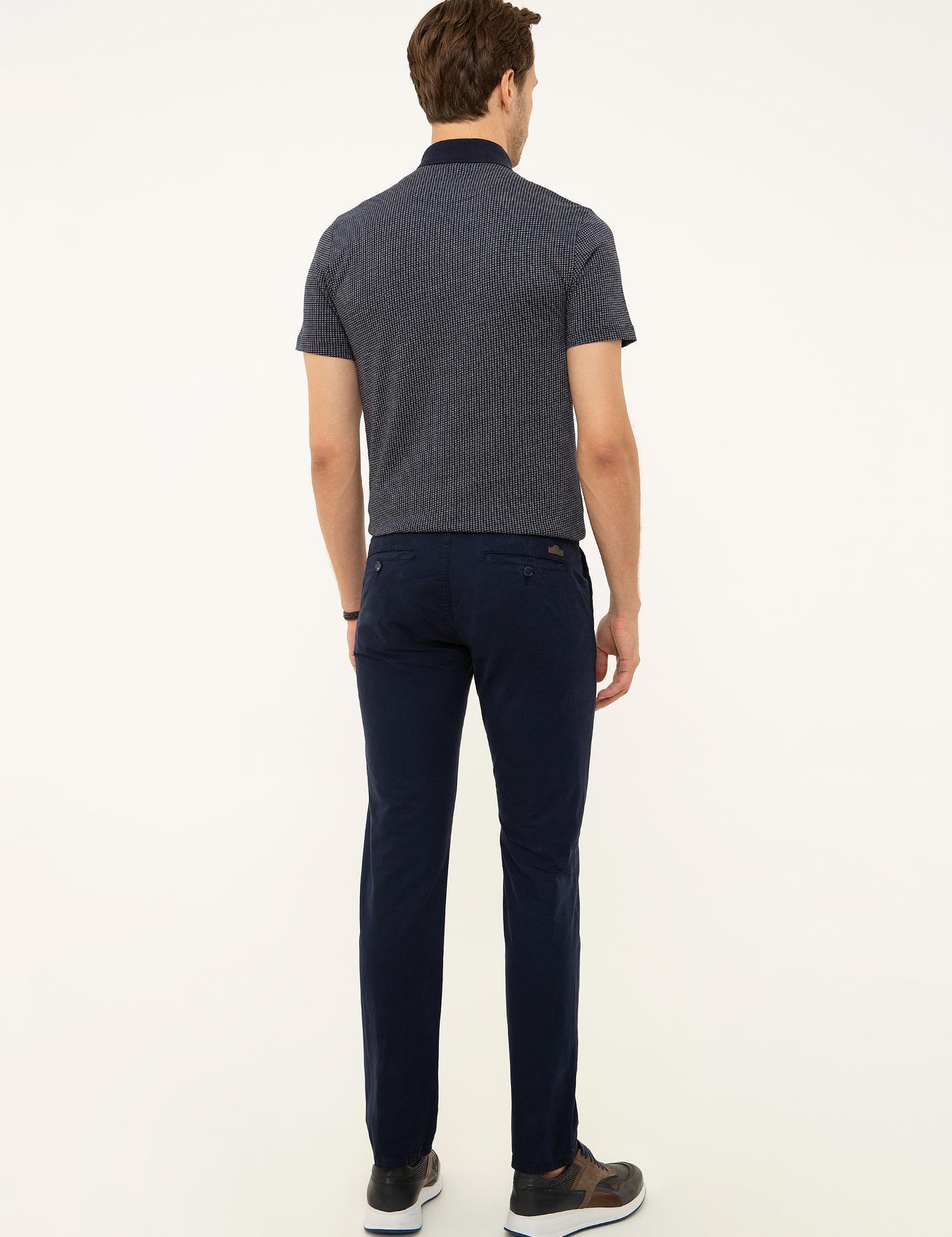 Lacivert Slim Fit Chino - 50213505152
