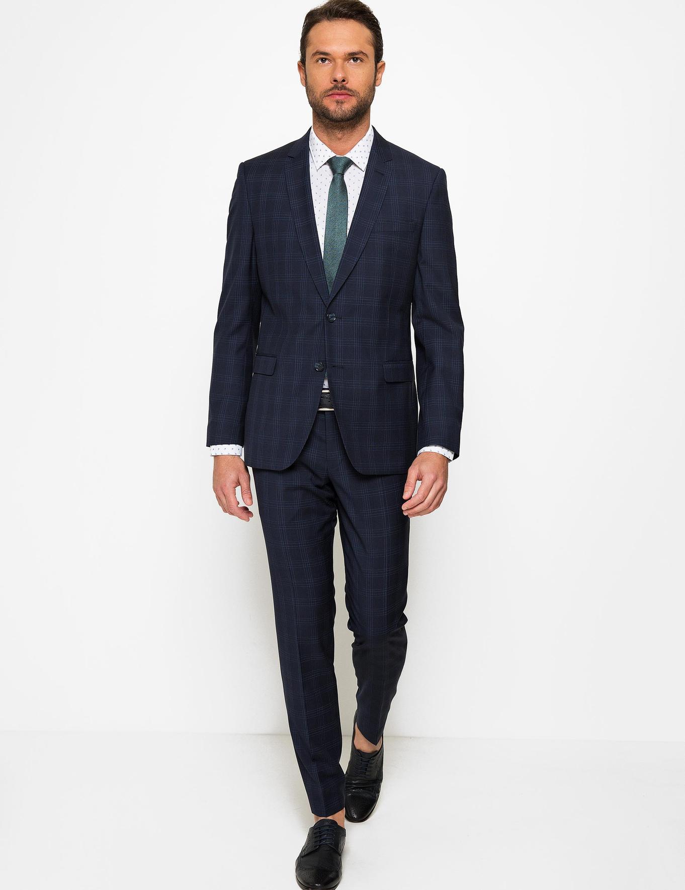 Lacivert Slim Fit Takım Elbise - 50185599002