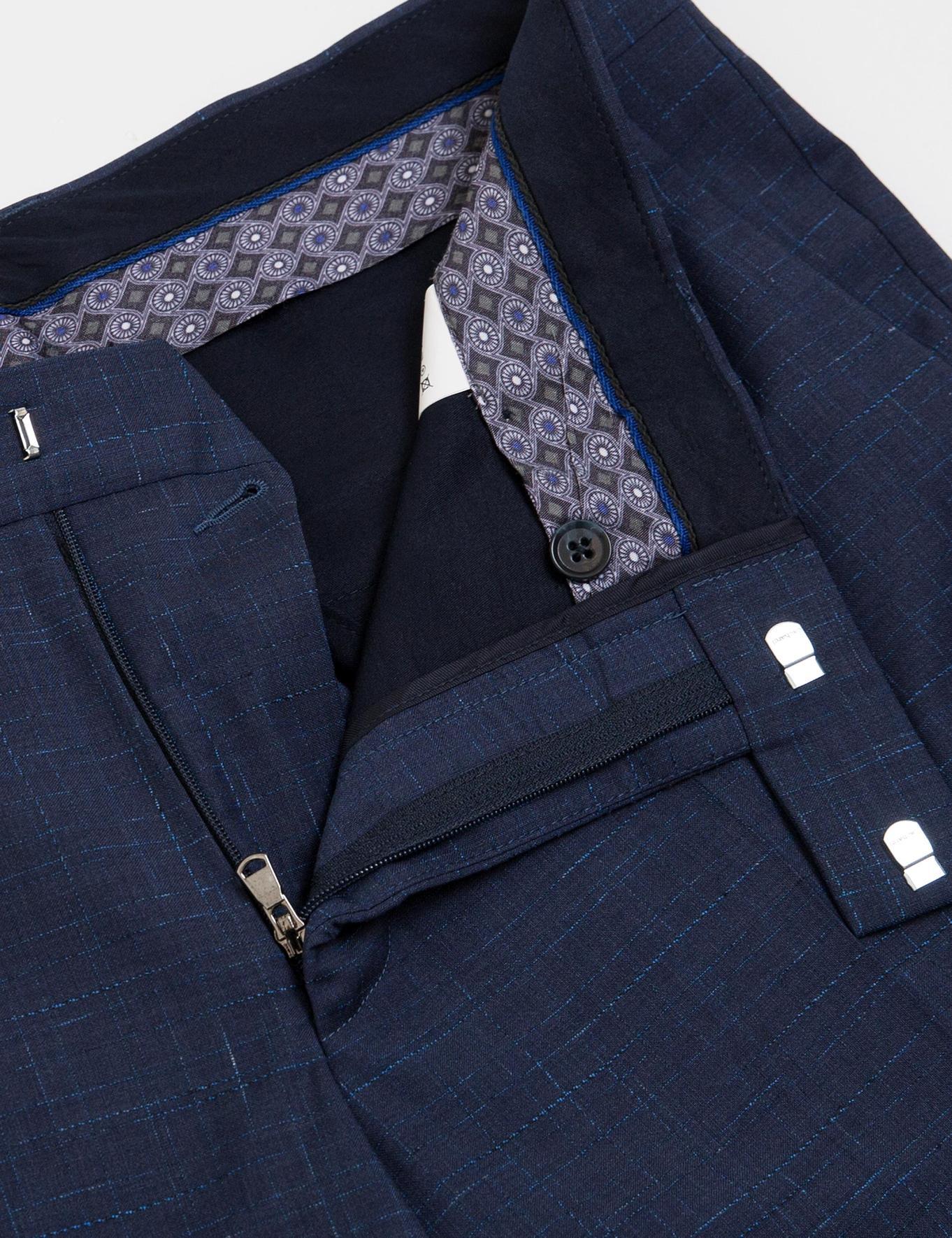 Lacivert Slim Fit Takım Elbise - 50185601006