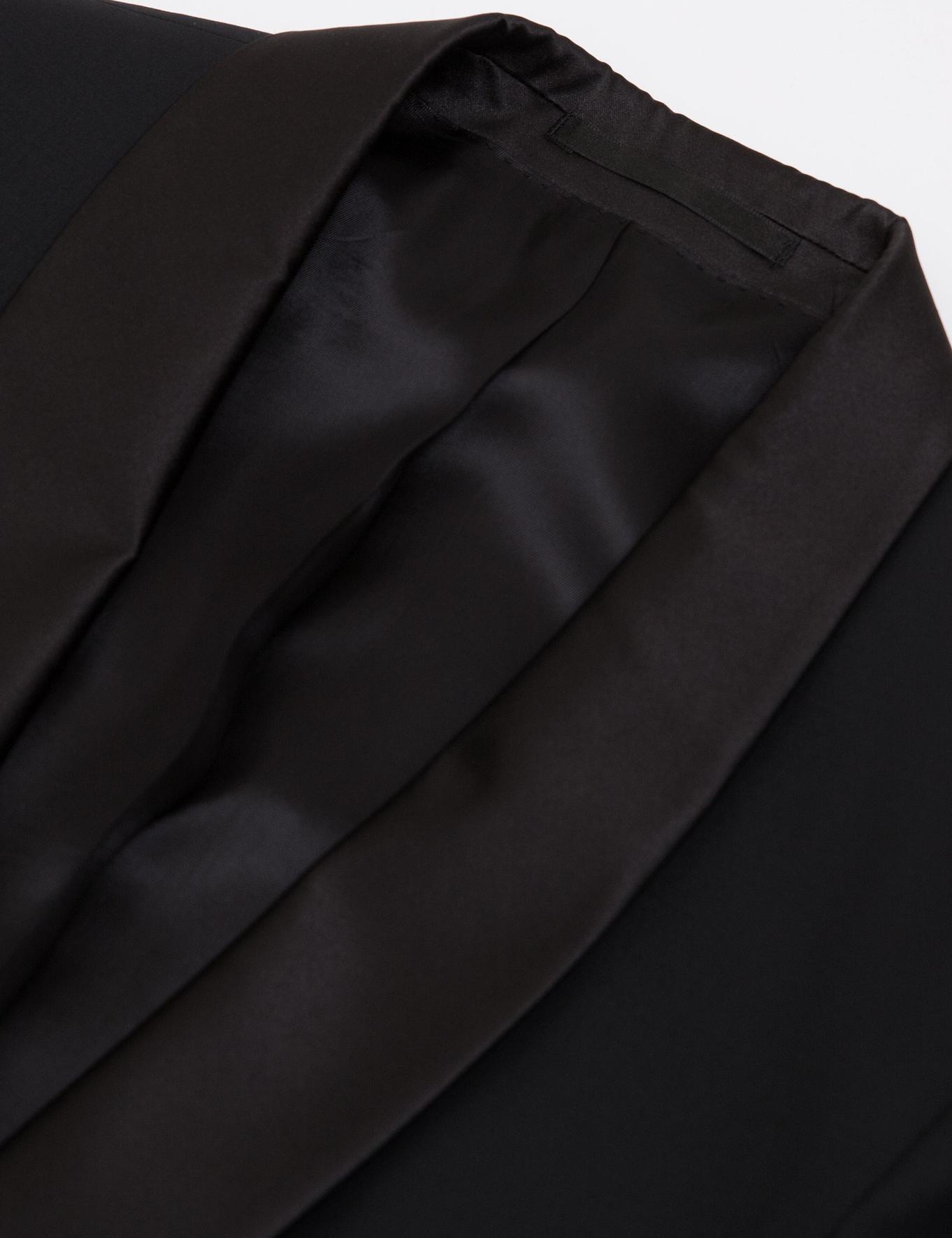Siyah Slim Fit Ceket - 50187379018
