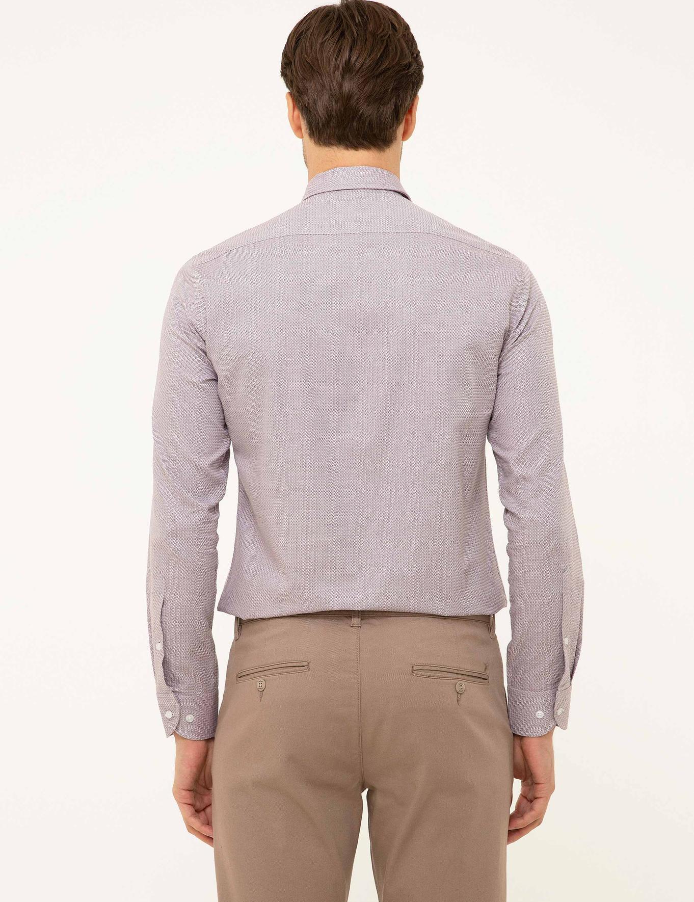 Pembe Slim Fit Gömlek - 50199295005
