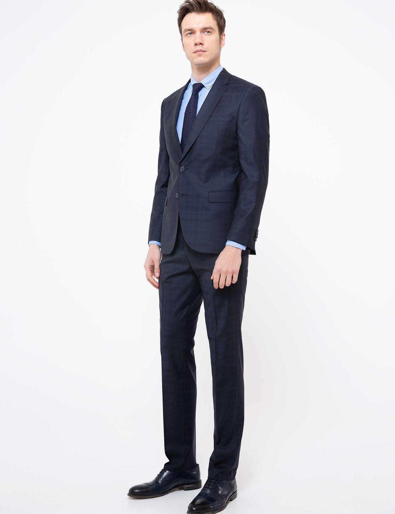 Lacivert Slim Fit Takım Elbise - 50201214008