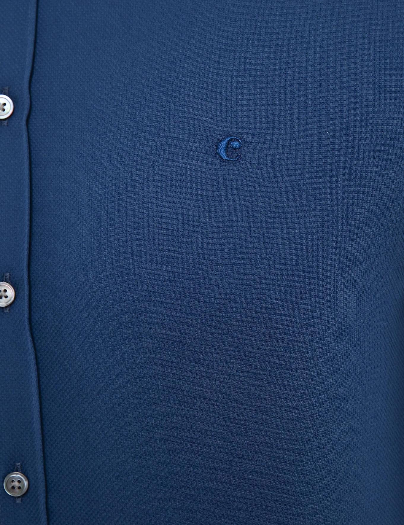 İndigo Slim Fit Gömlek - 50219660004