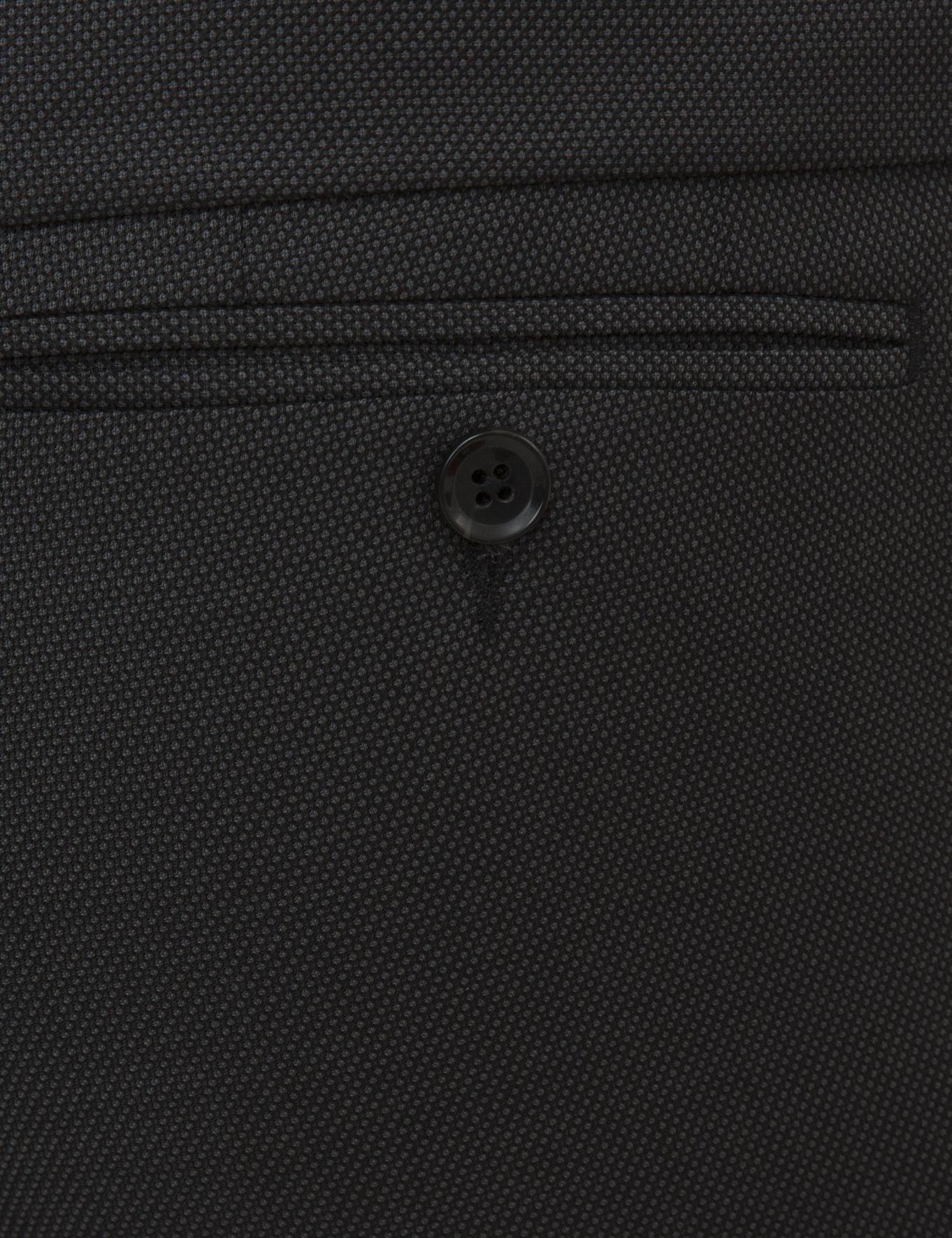 Siyah Slim Fit Takım Elbise - 50219654053