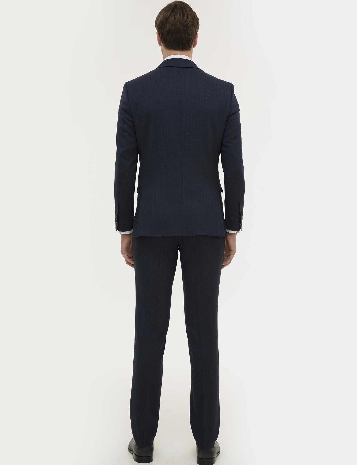 Lacivert Slim Fit Takım Elbise - 50219265008