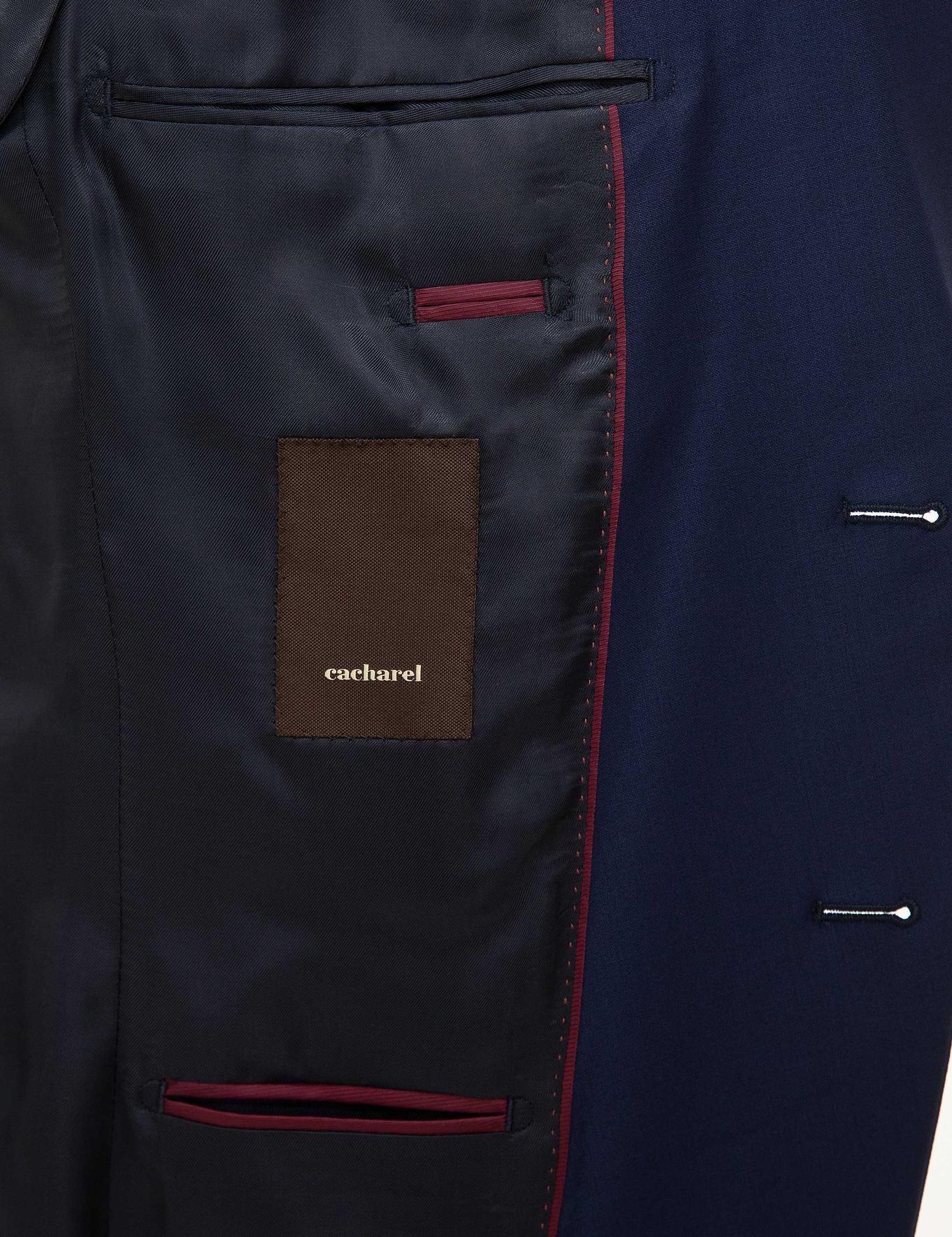 Lacivert Ex. Slim Fit Takım Elbise - 50225707020