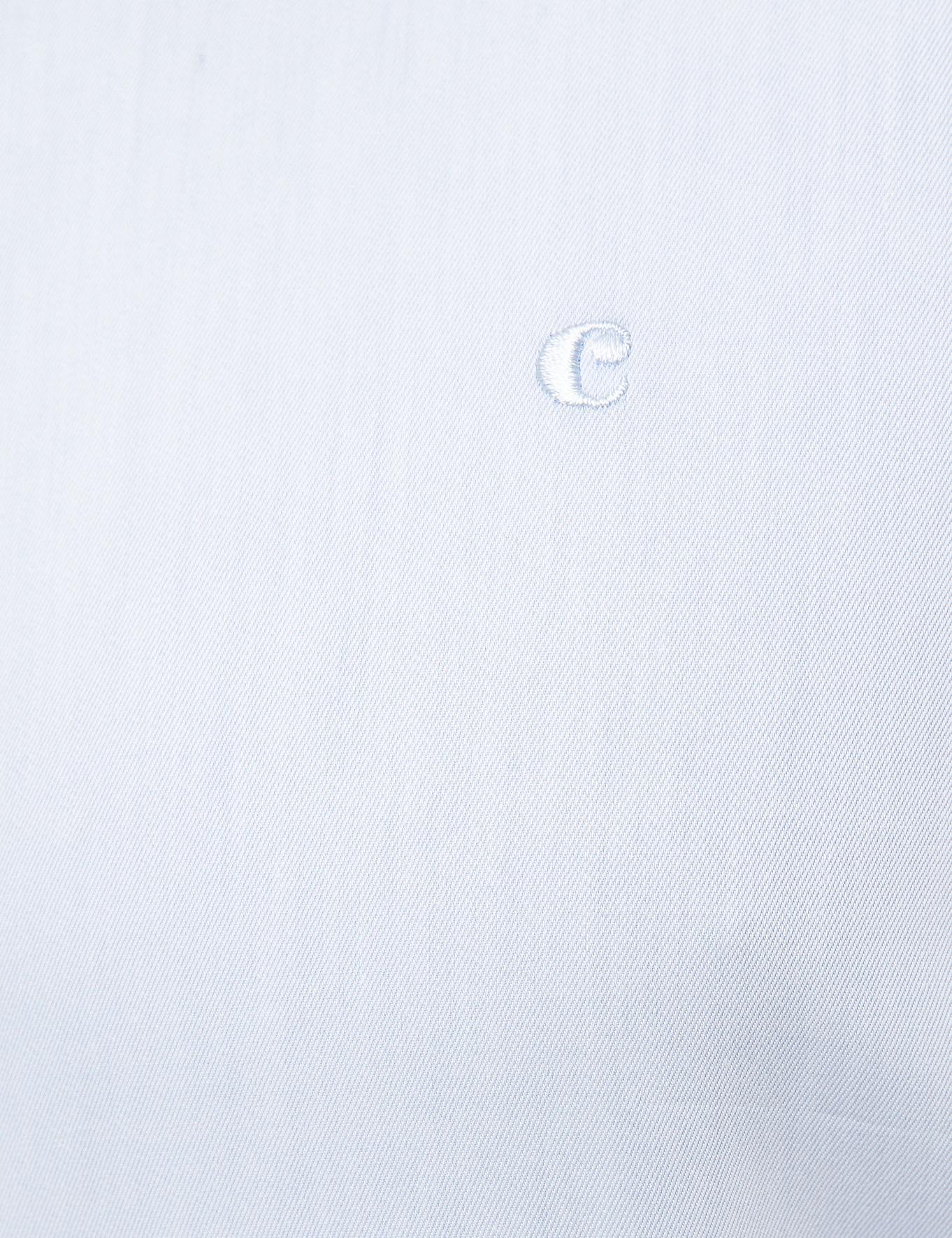 Açık Mavi Casual Fit Basic Gömlek - 50195087019