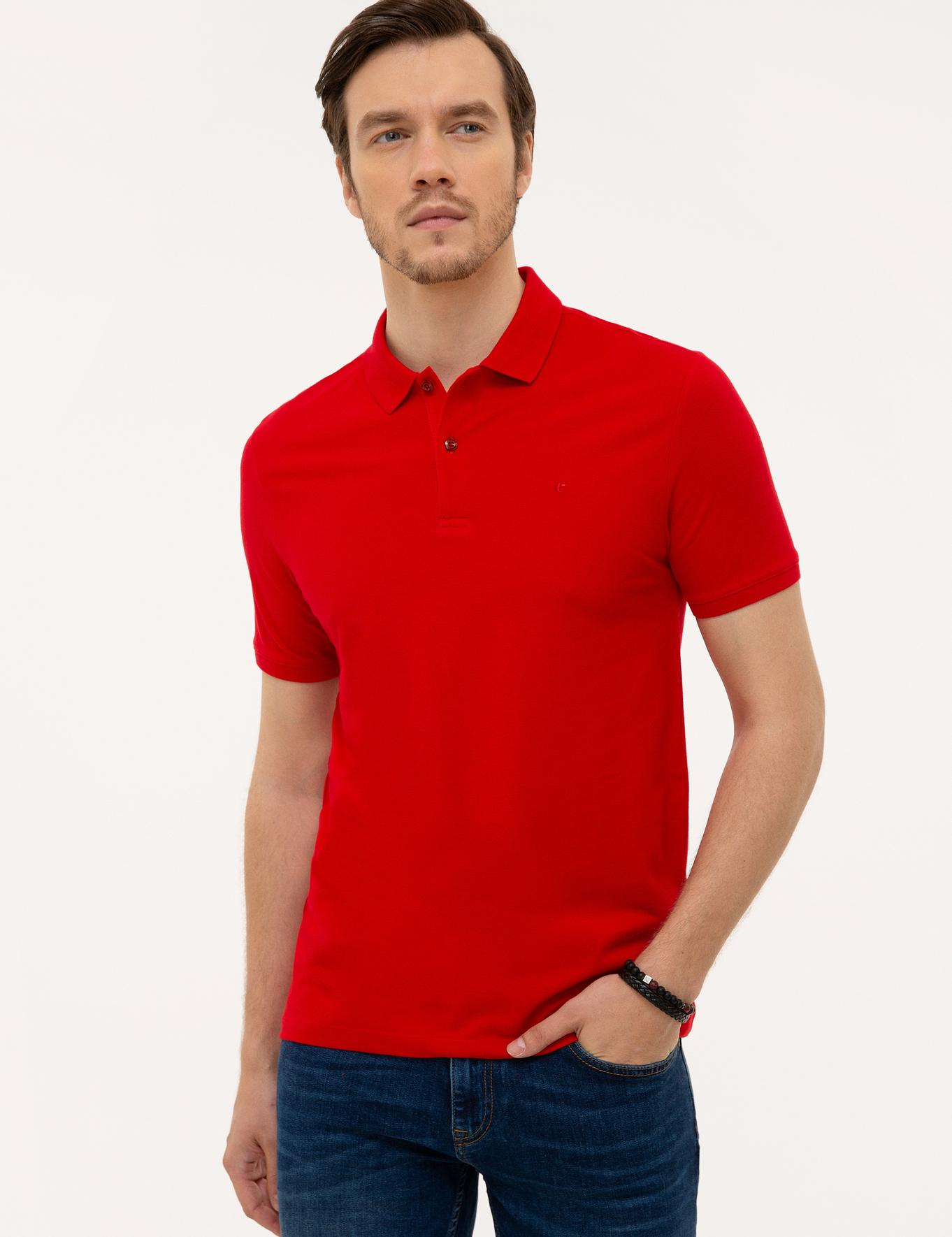 Polo Yaka Basic T-Shirt - 50226962068