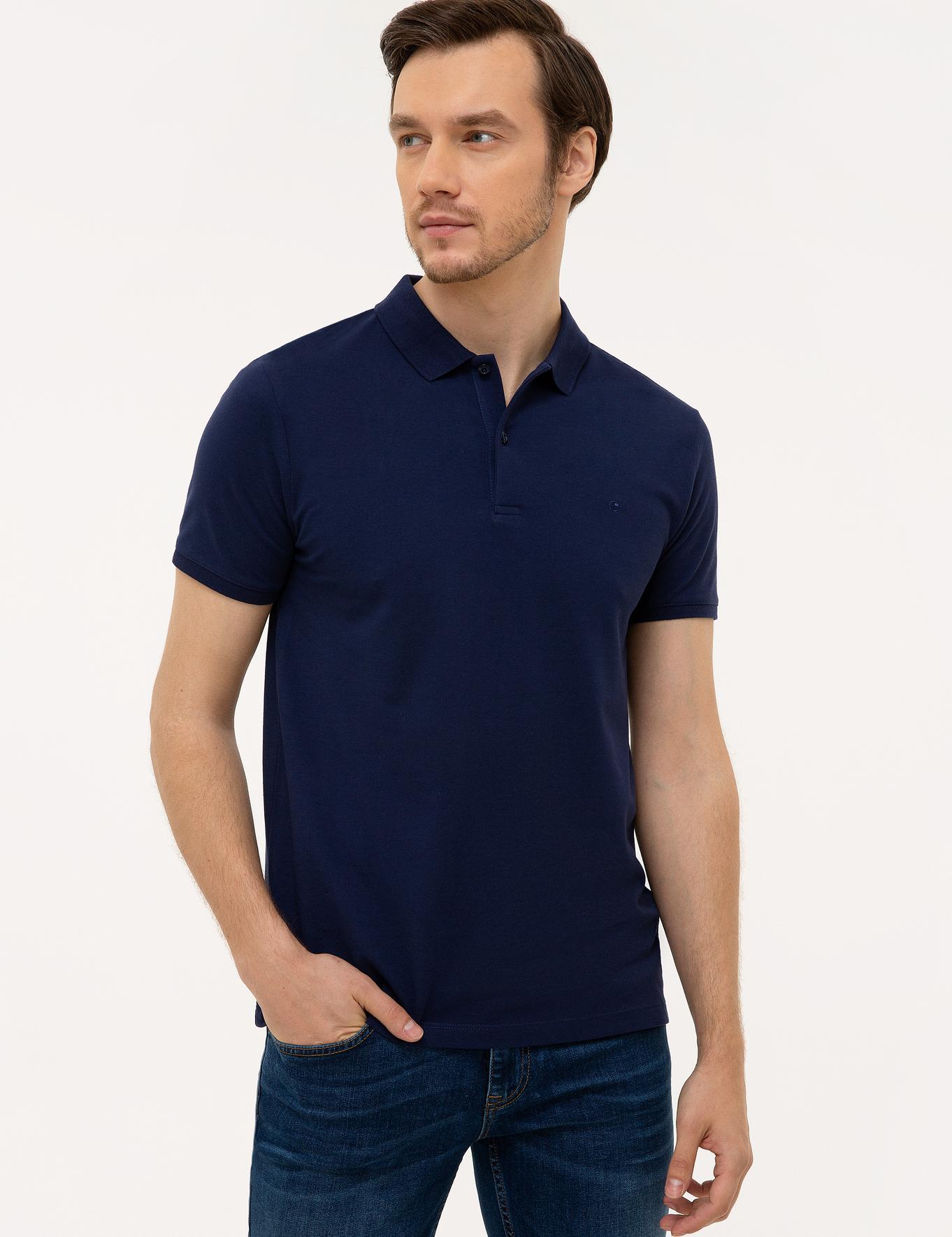Polo Yaka Basic T-Shirt - 50226962079