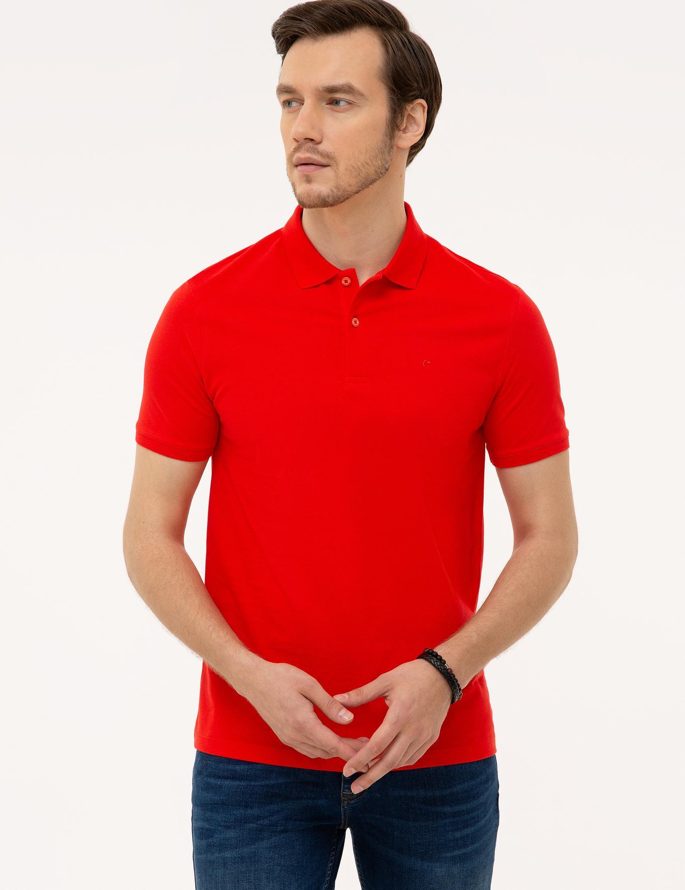 Polo Yaka Basic T-Shirt - 50226962088