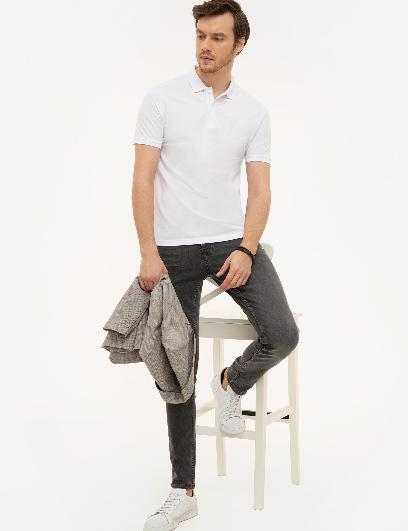 Polo Yaka Basic T-Shirt - 50226962033