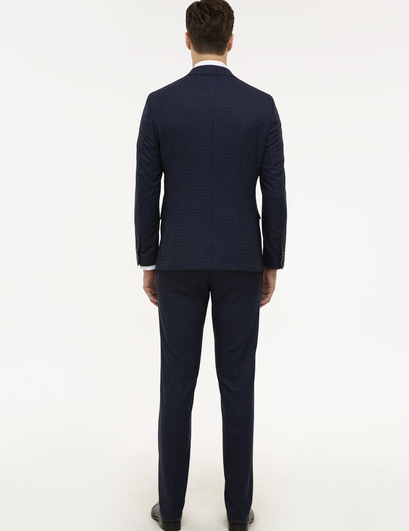Lacivert Slim Fit Takım Elbise - 50225631008
