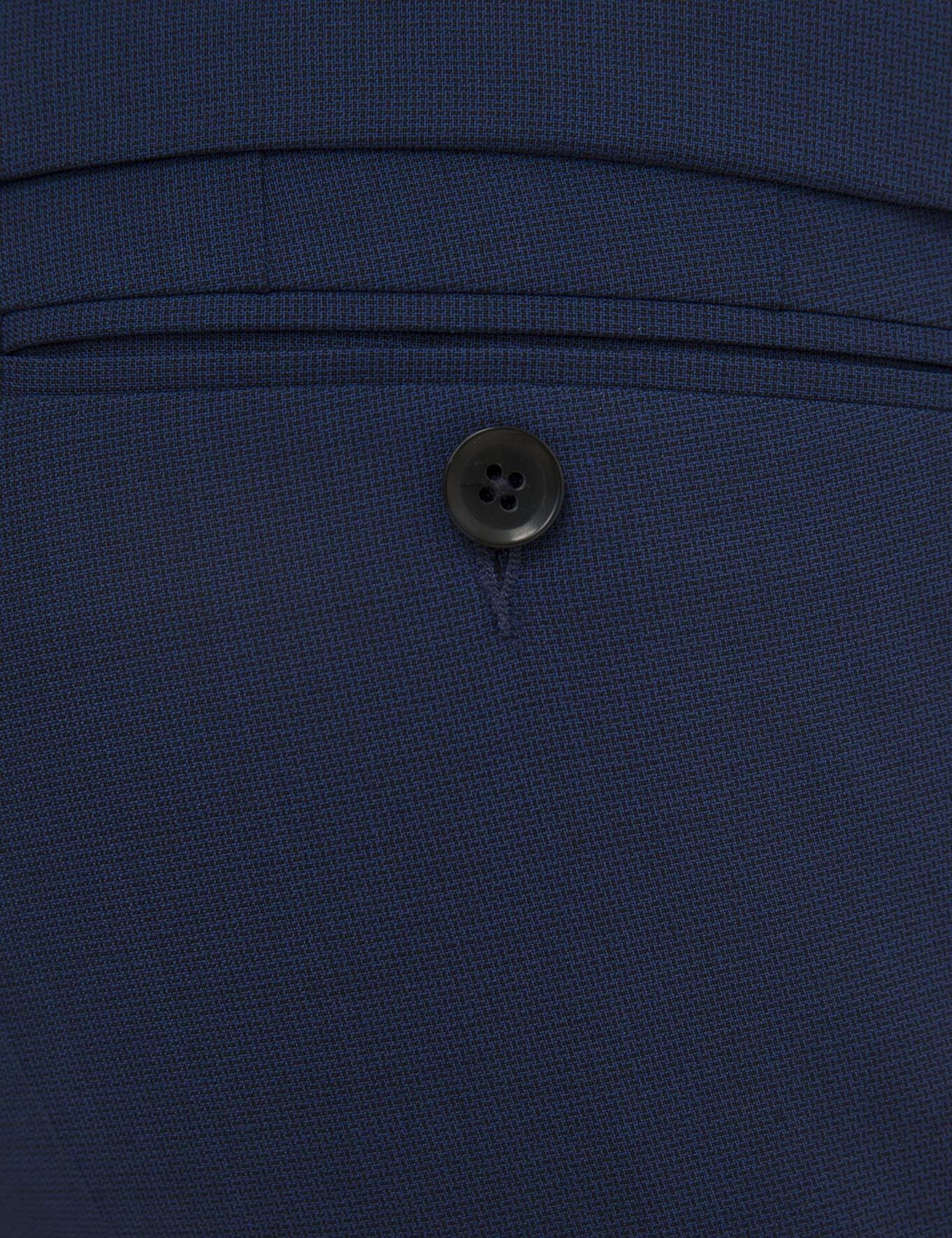 Sax Mavisi Slim Fit Takım Elbise - 50225637008