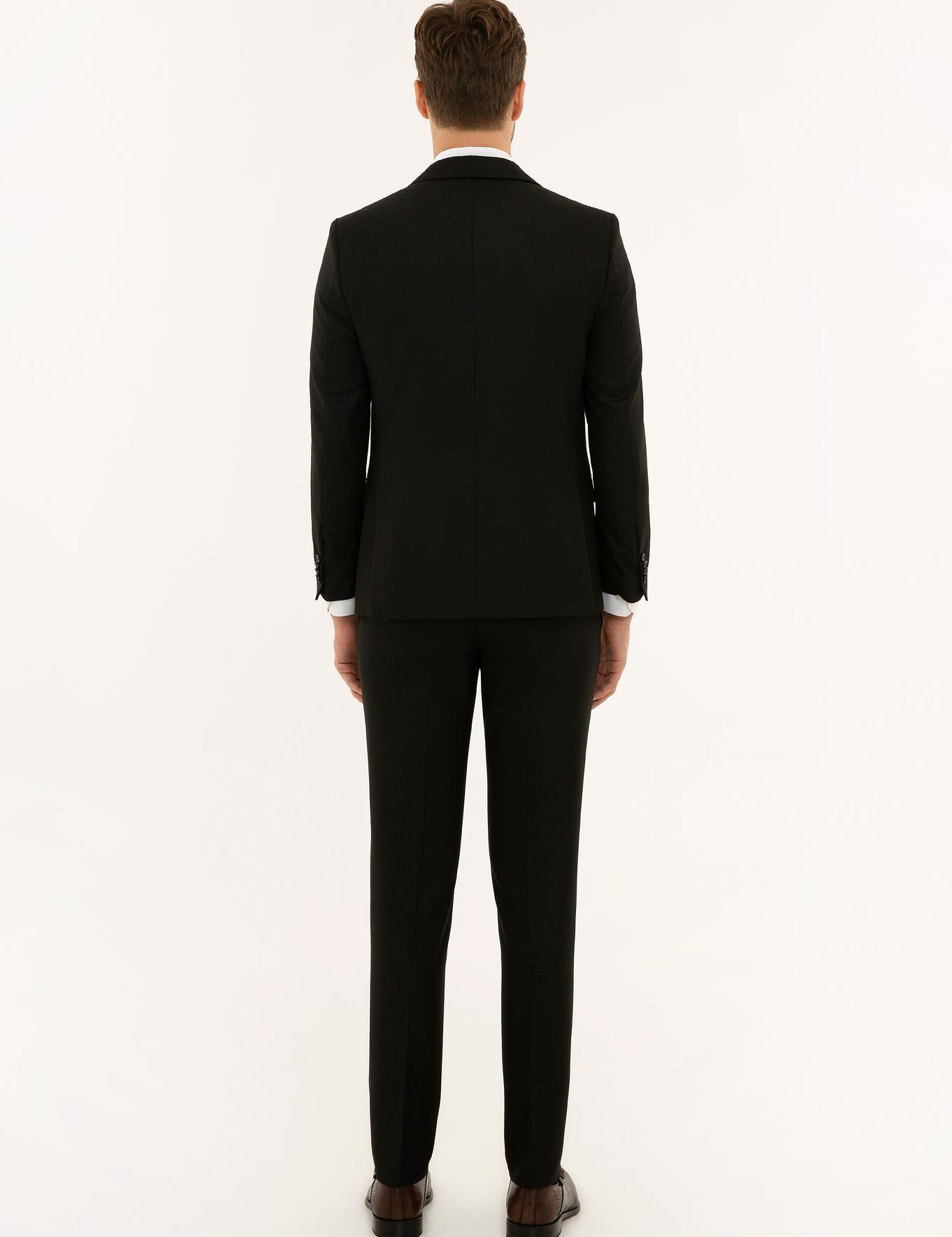 Siyah Ex. Slim Fit Takım Elbise - 50224579041