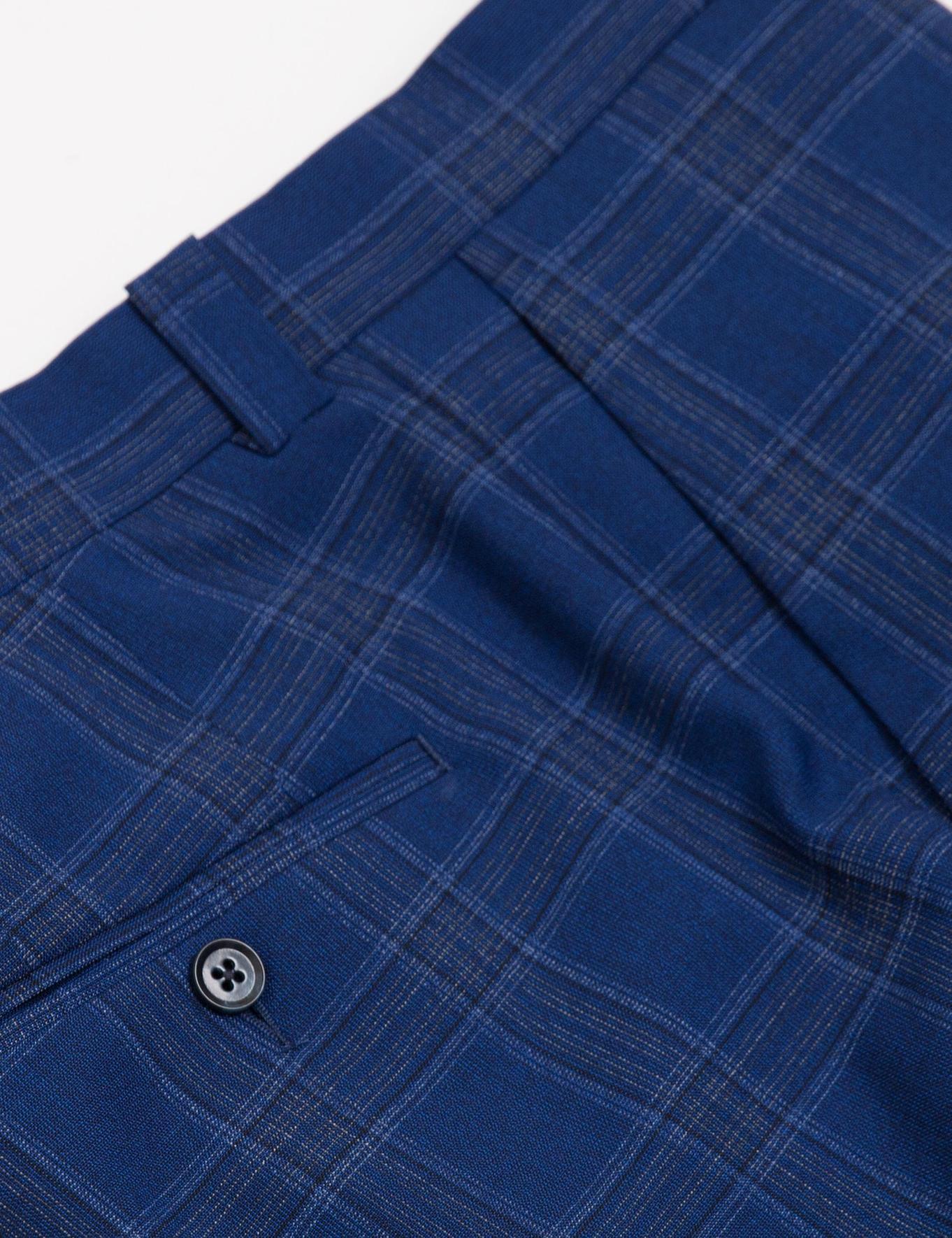 Açık Lacivert Slim Fit Takım Elbise - 50188558011