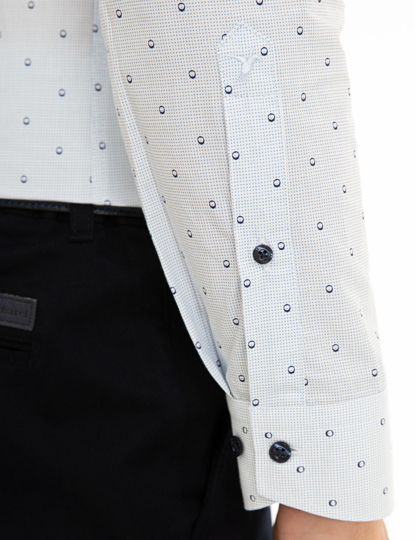 Açık Mavi Slim Fit Gömlek - 50227916062