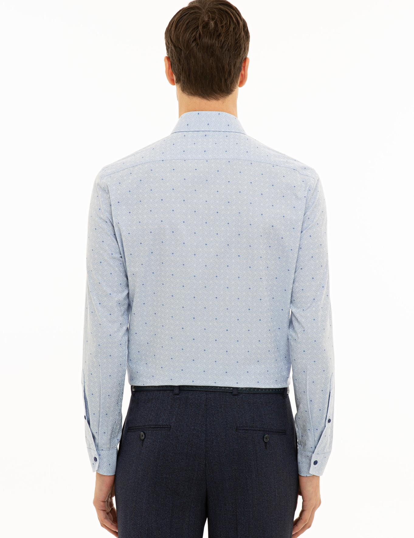 Açık Mavi Slim Fit Gömlek - 50227931043